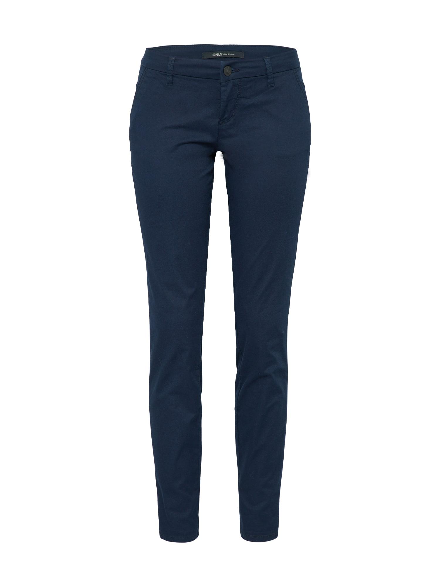 Chino kalhoty onlPARIS námořnická modř ONLY