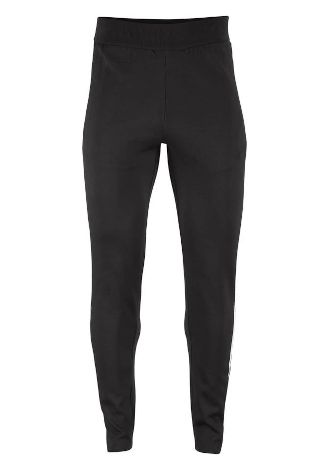 Sportovní kalhoty MEN ID KNIT STRIKER  černá ADIDAS PERFORMANCE
