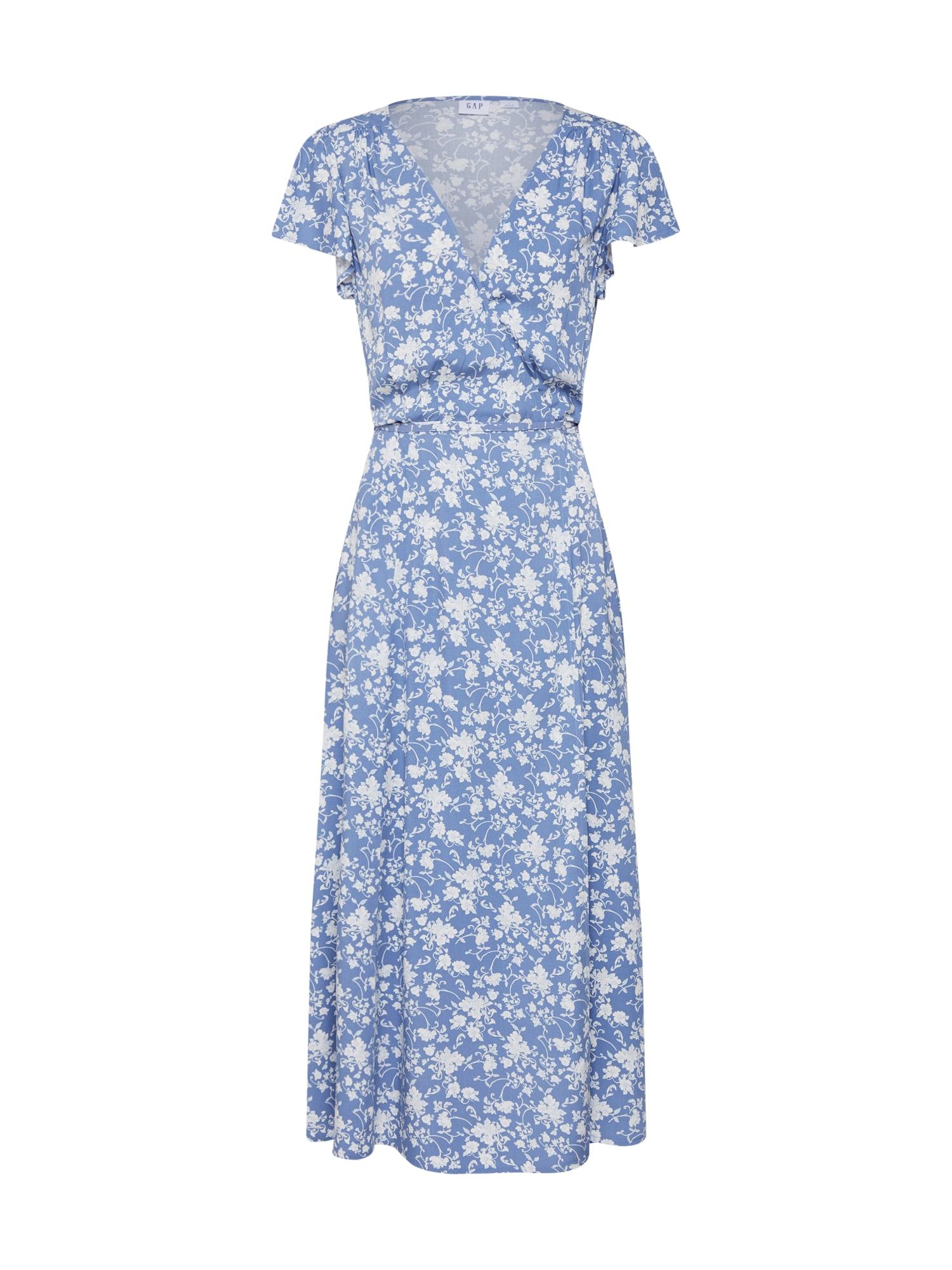 Šaty modrá bílá GAP