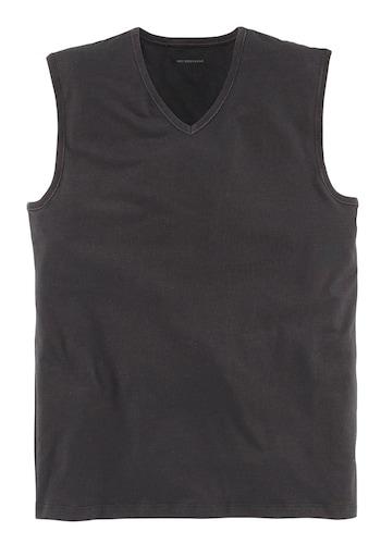 Muskel-Shirt mit V-Ausschnitt »Dry Cotton«