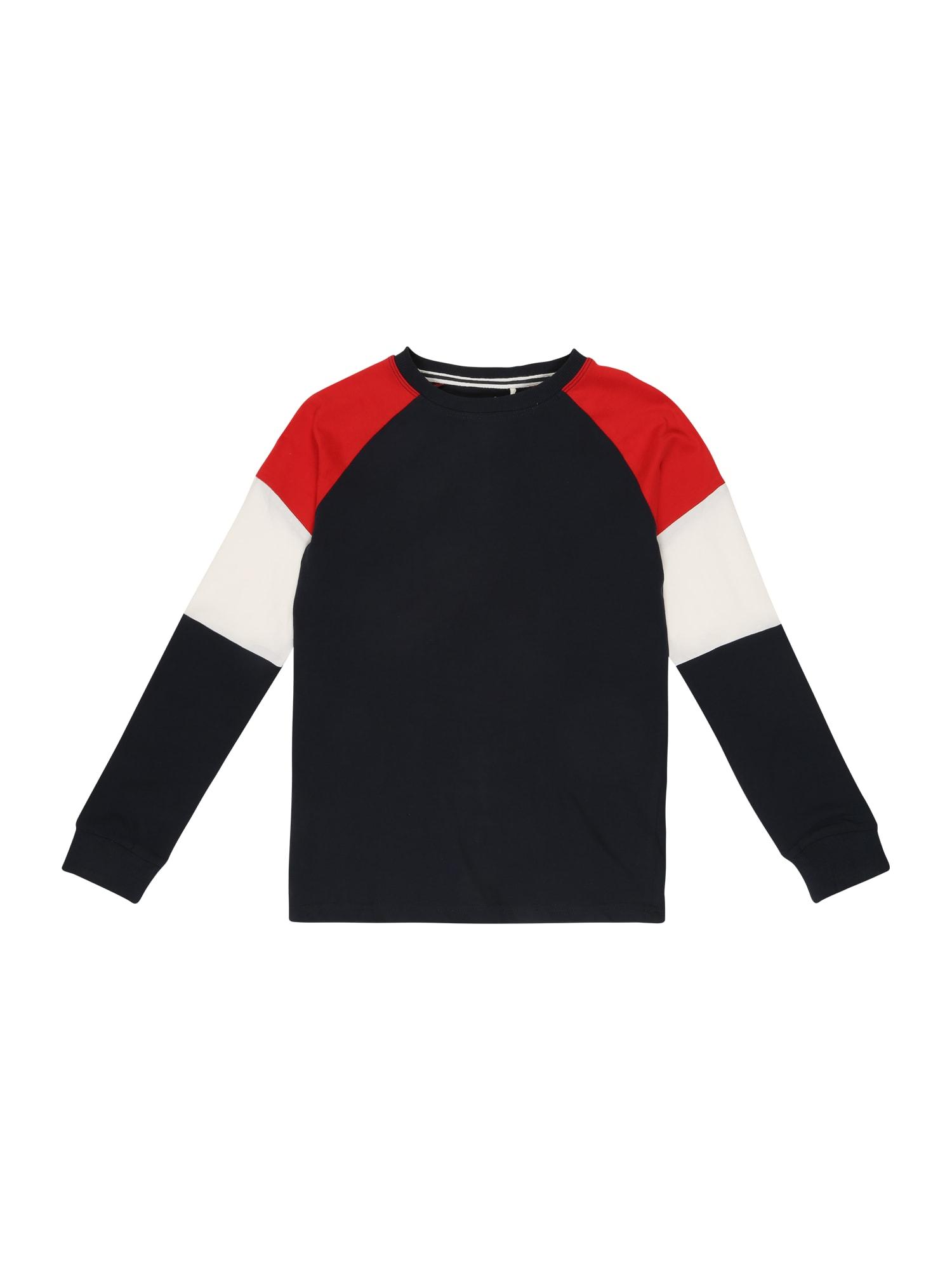 Tričko tmavě modrá červená bílá NAME IT