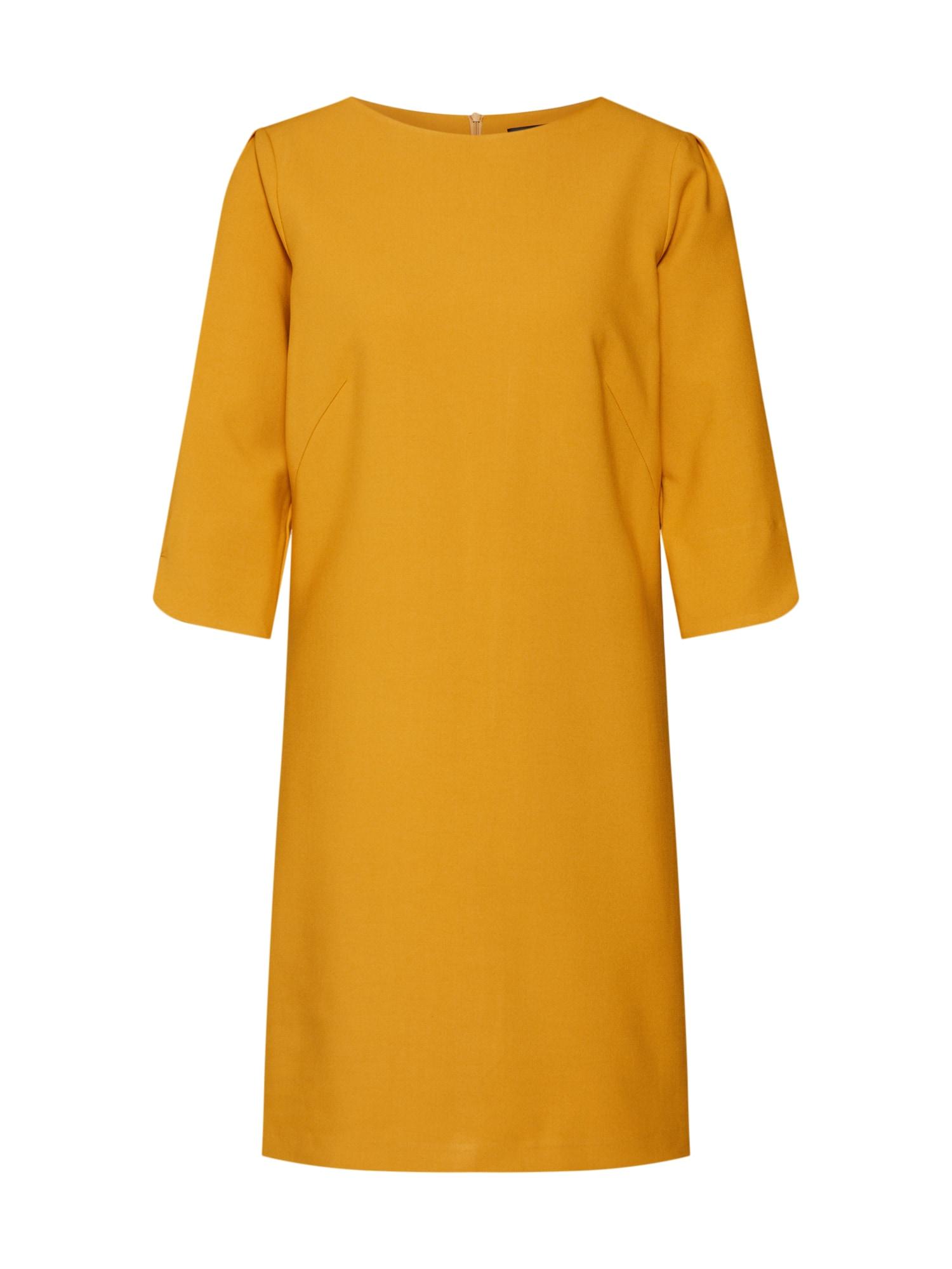 Šaty hořčicová MORE & MORE