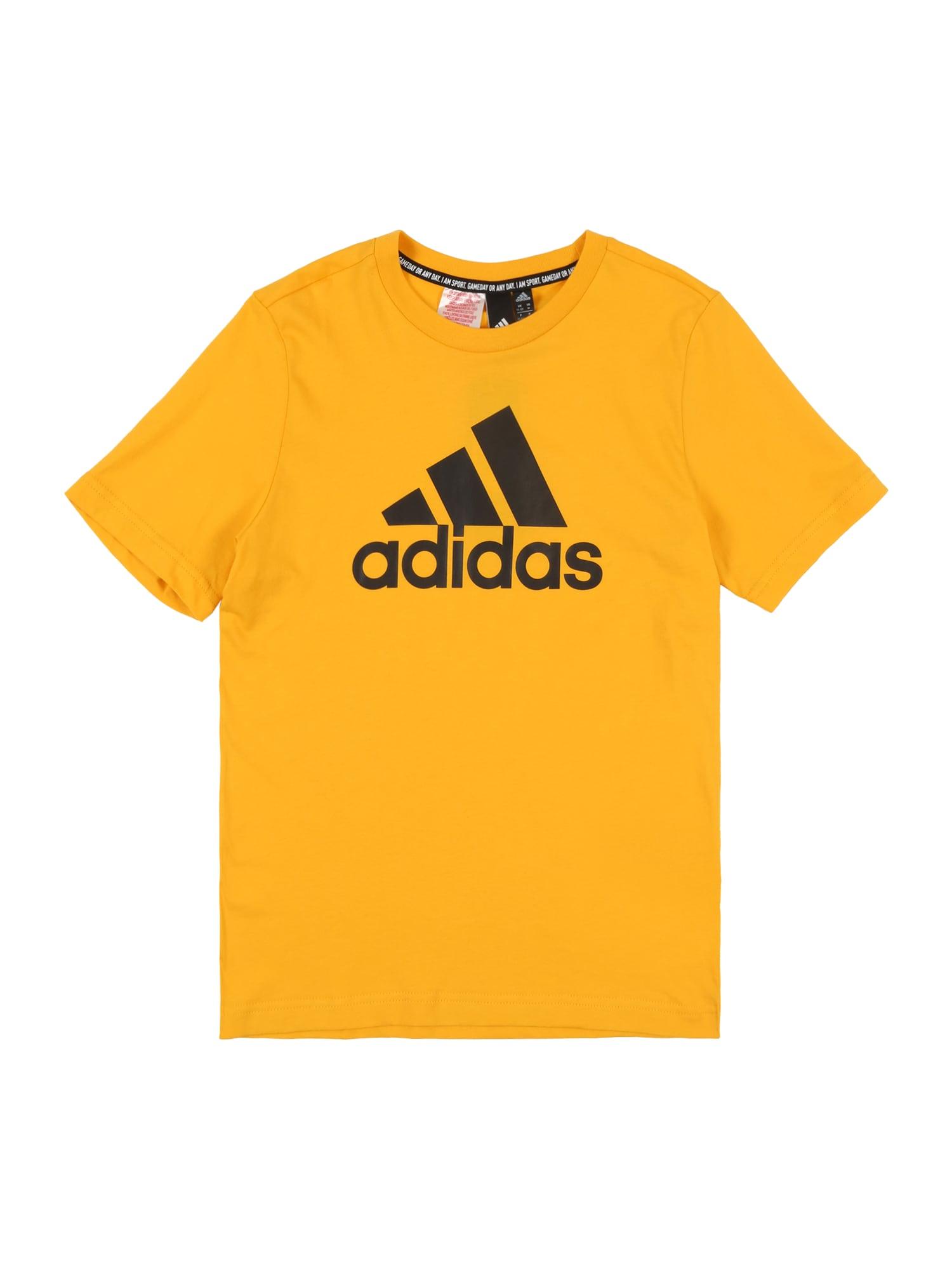 Funkční tričko žlutá ADIDAS PERFORMANCE