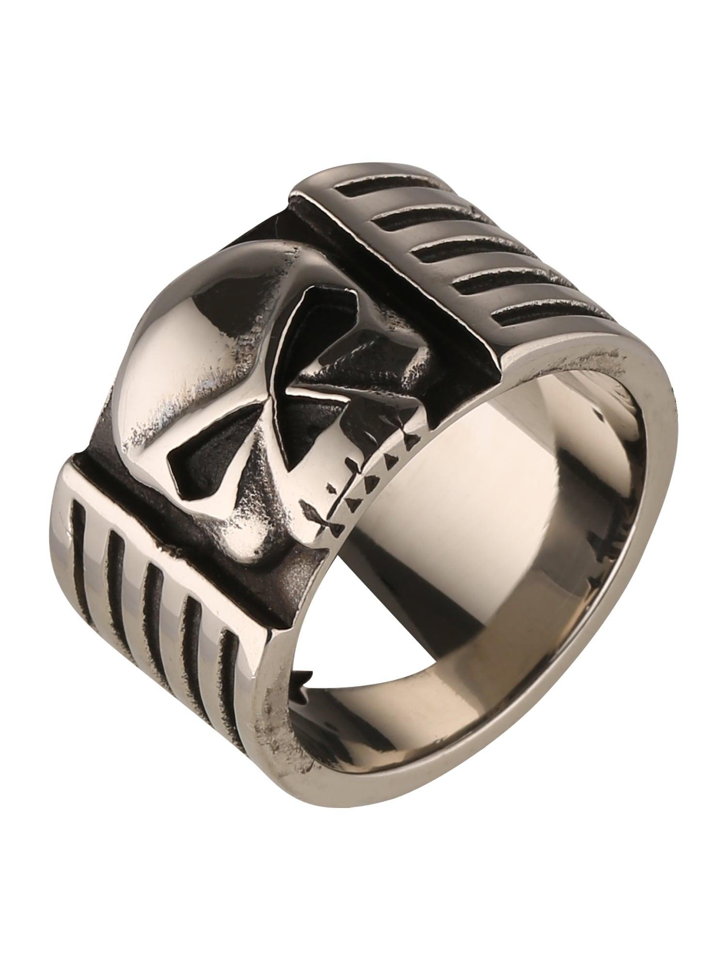 Prsten Skull  stříbrná ROYAL-EGO