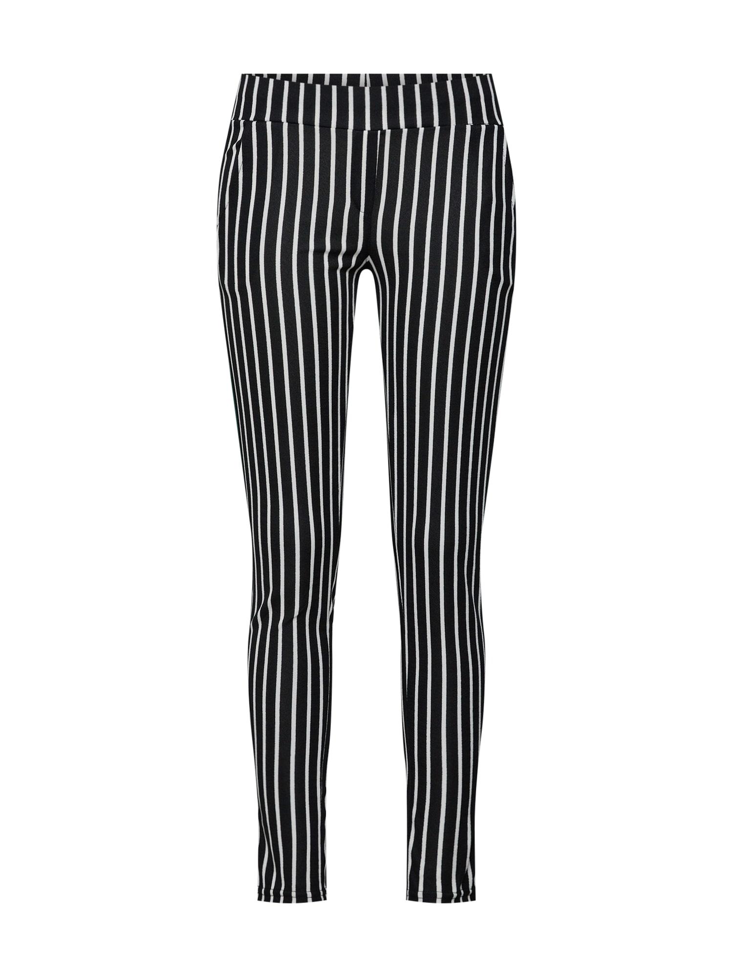 Kalhoty černá bílá Zwillingsherz