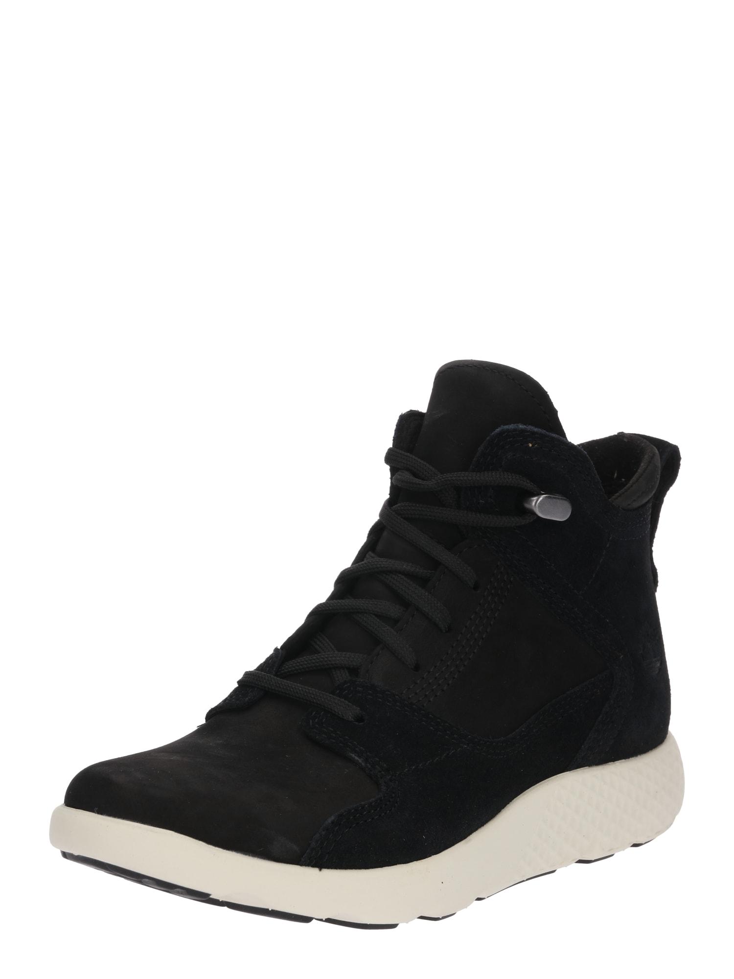 Šněrovací boty FlyRoam Hiker černá TIMBERLAND