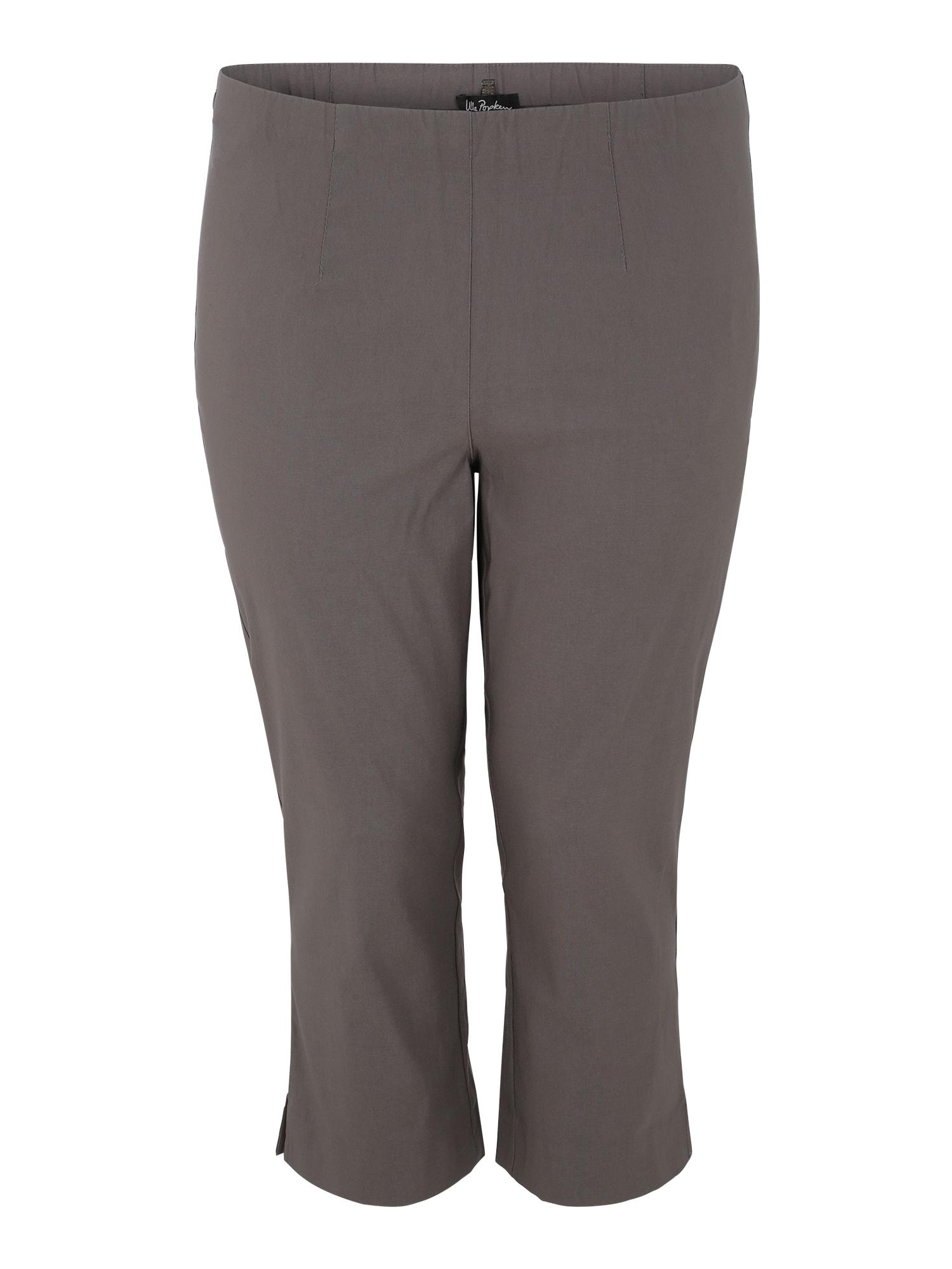 Kalhoty světle šedá Ulla Popken