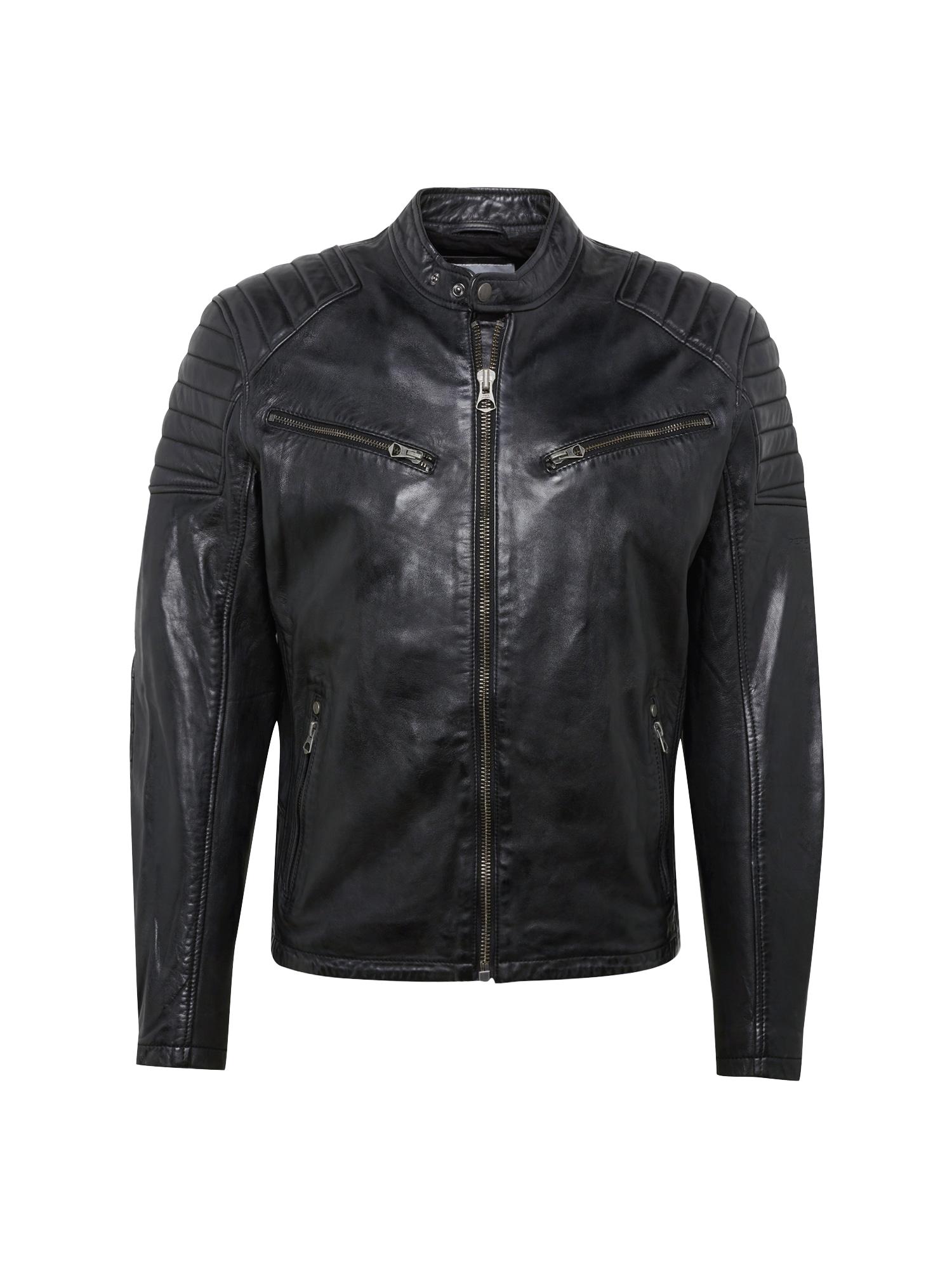 Přechodná bunda KEITH SUMMER černá Pepe Jeans