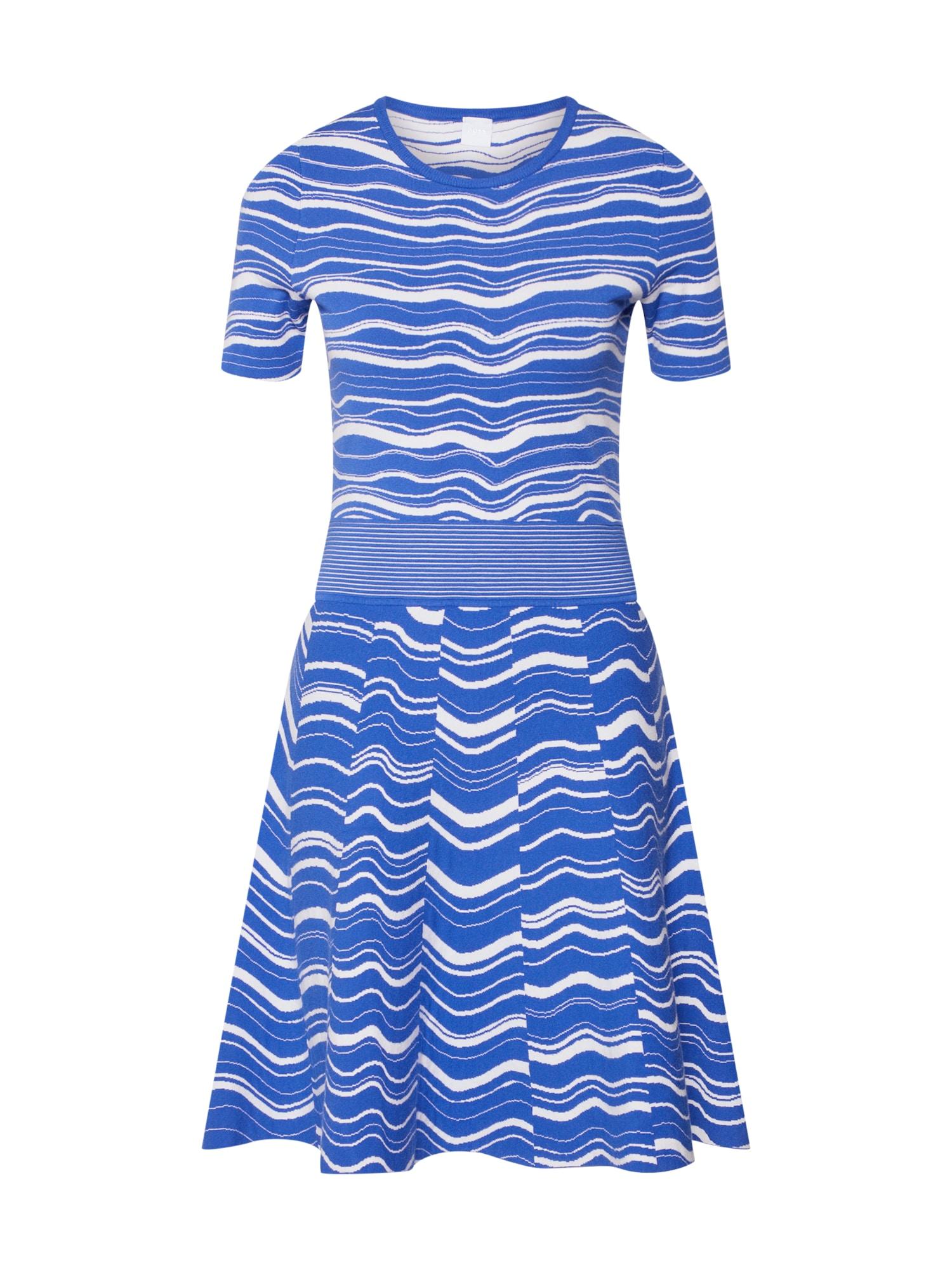 Šaty Ivelna modrá BOSS