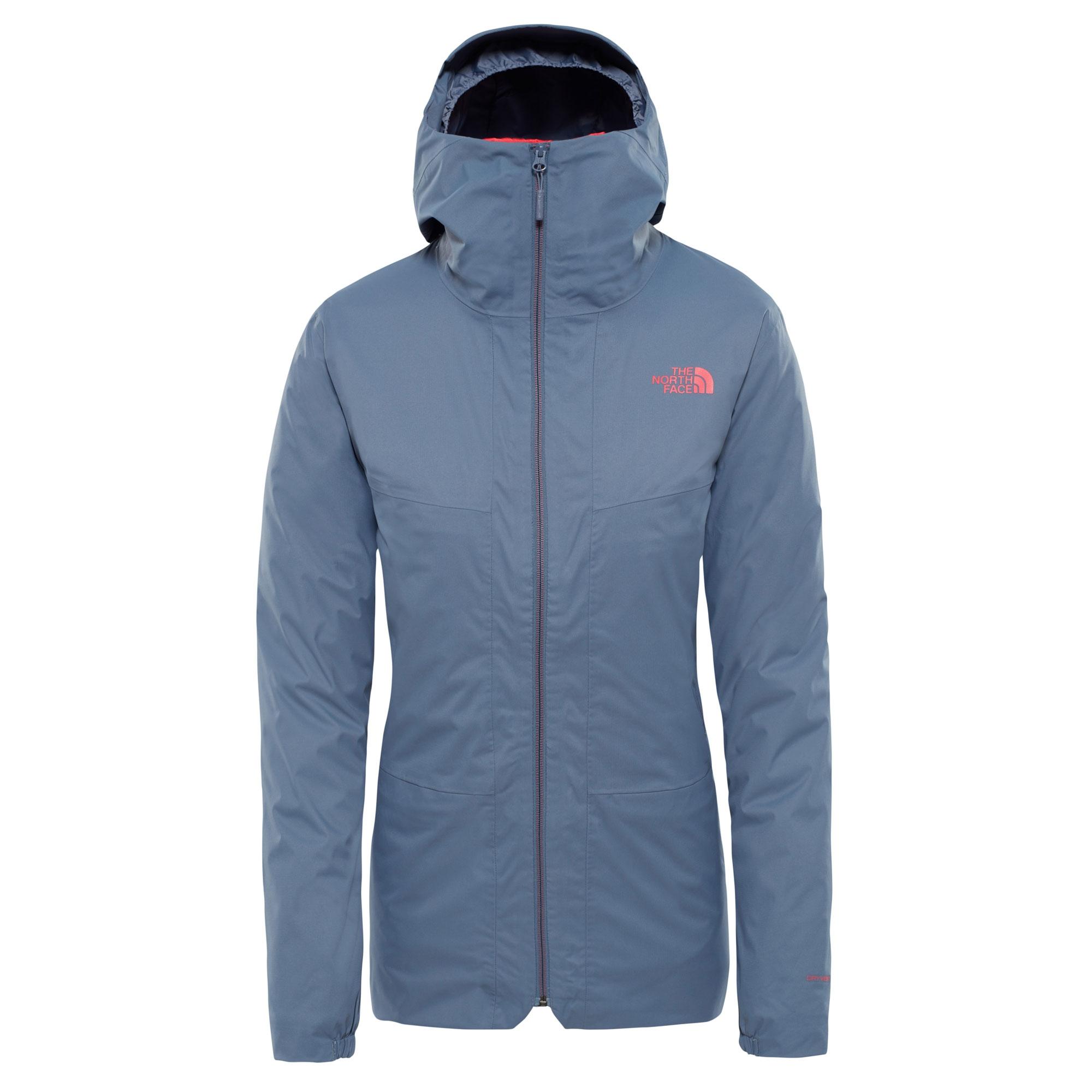 Outdoorová bunda HIKESTELLER TRI chladná modrá THE NORTH FACE