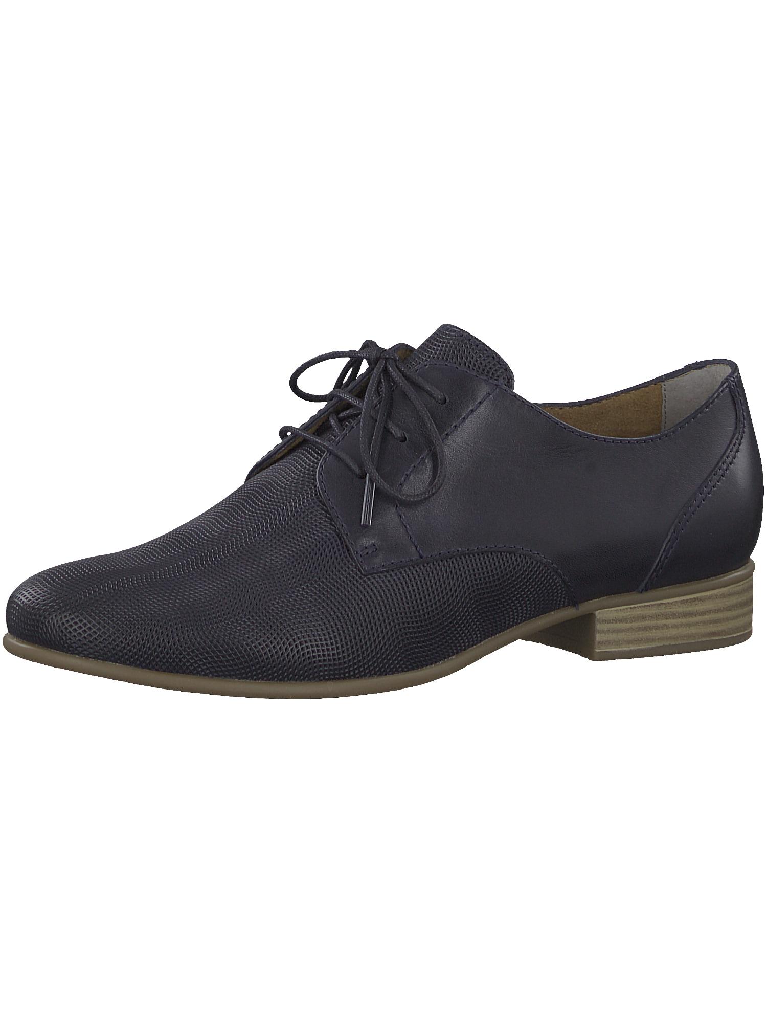 Šněrovací boty námořnická modř TAMARIS