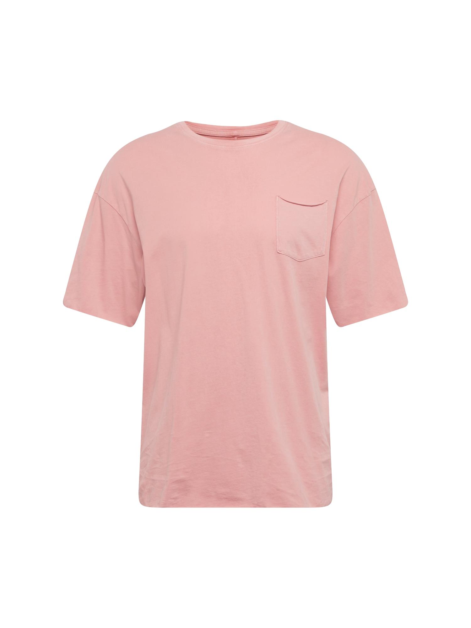 Tričko JORHOPPER růžová JACK & JONES