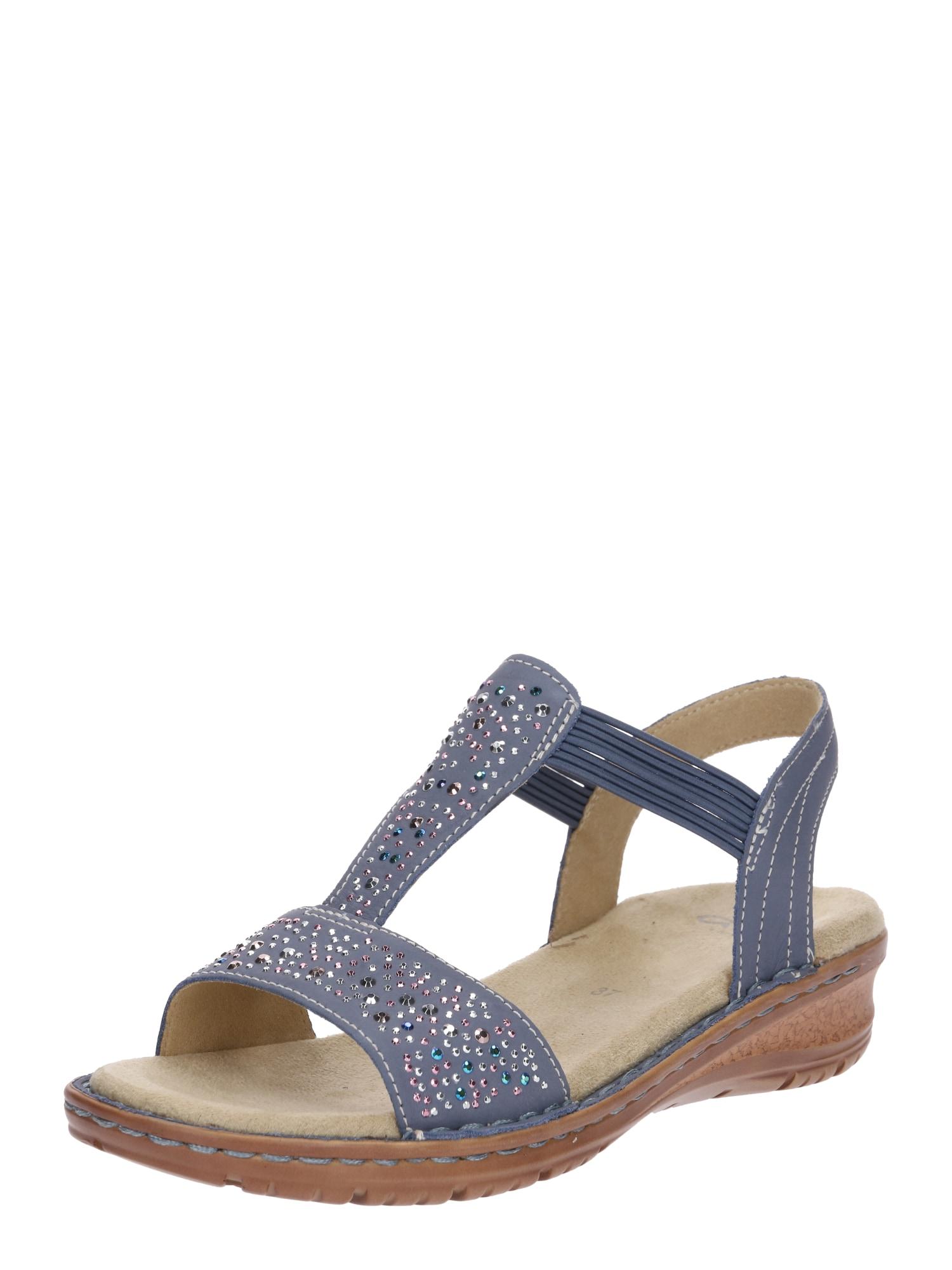 Sandály HAWAII modrá ARA