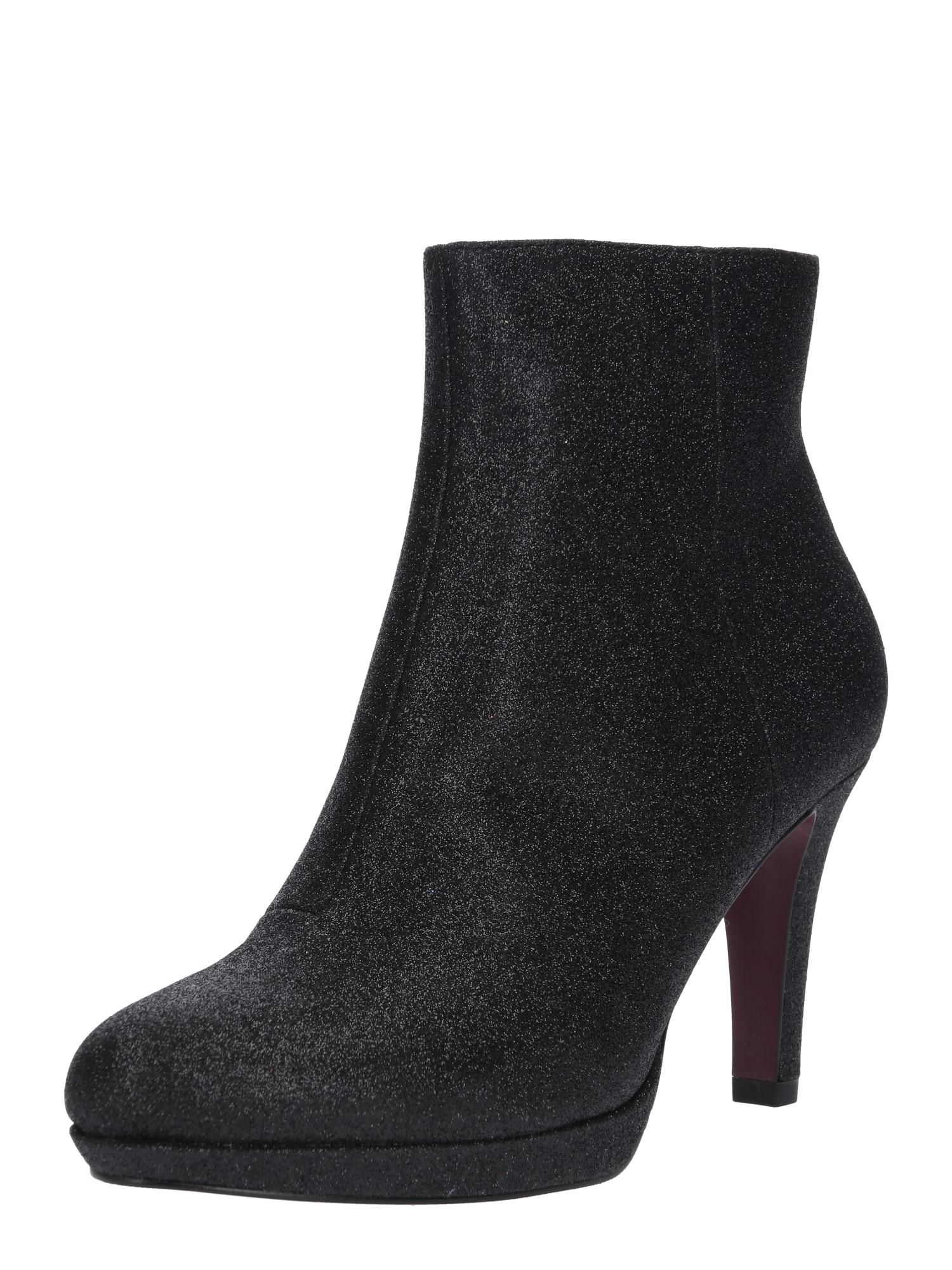 Kotníkové boty černá S.Oliver RED LABEL