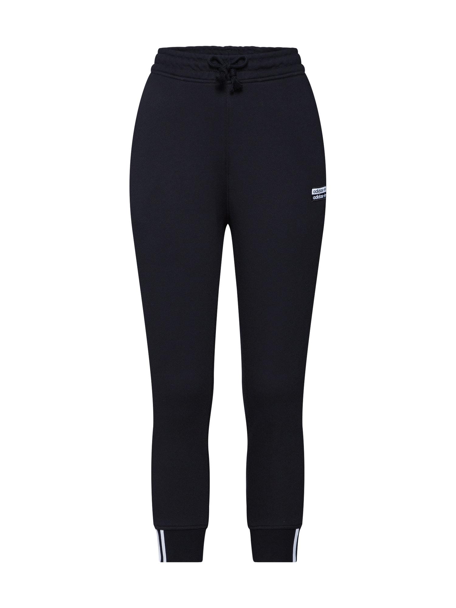 Kalhoty VOCAL černá ADIDAS ORIGINALS