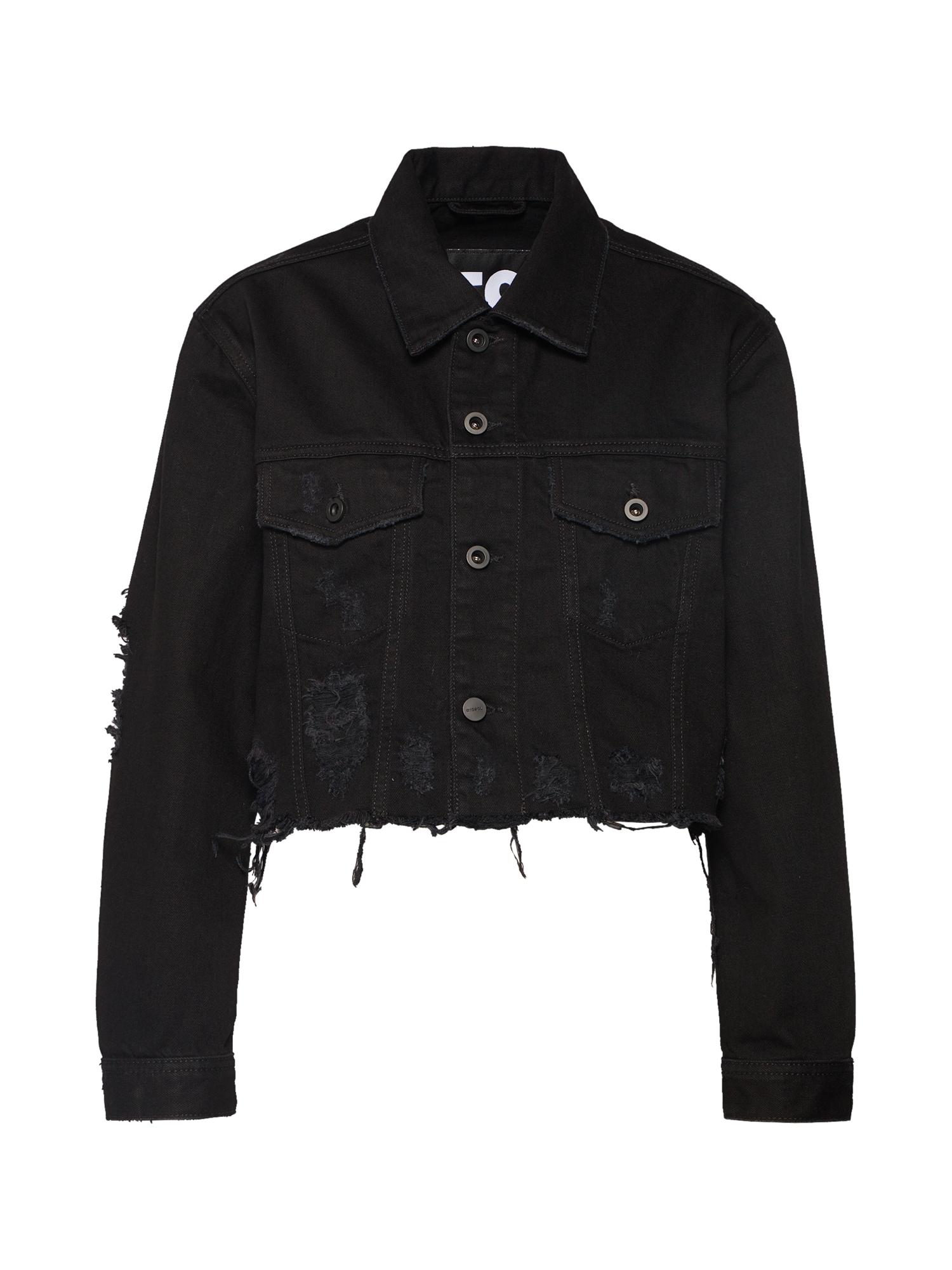Přechodná bunda DE-POPPY černá DIESEL