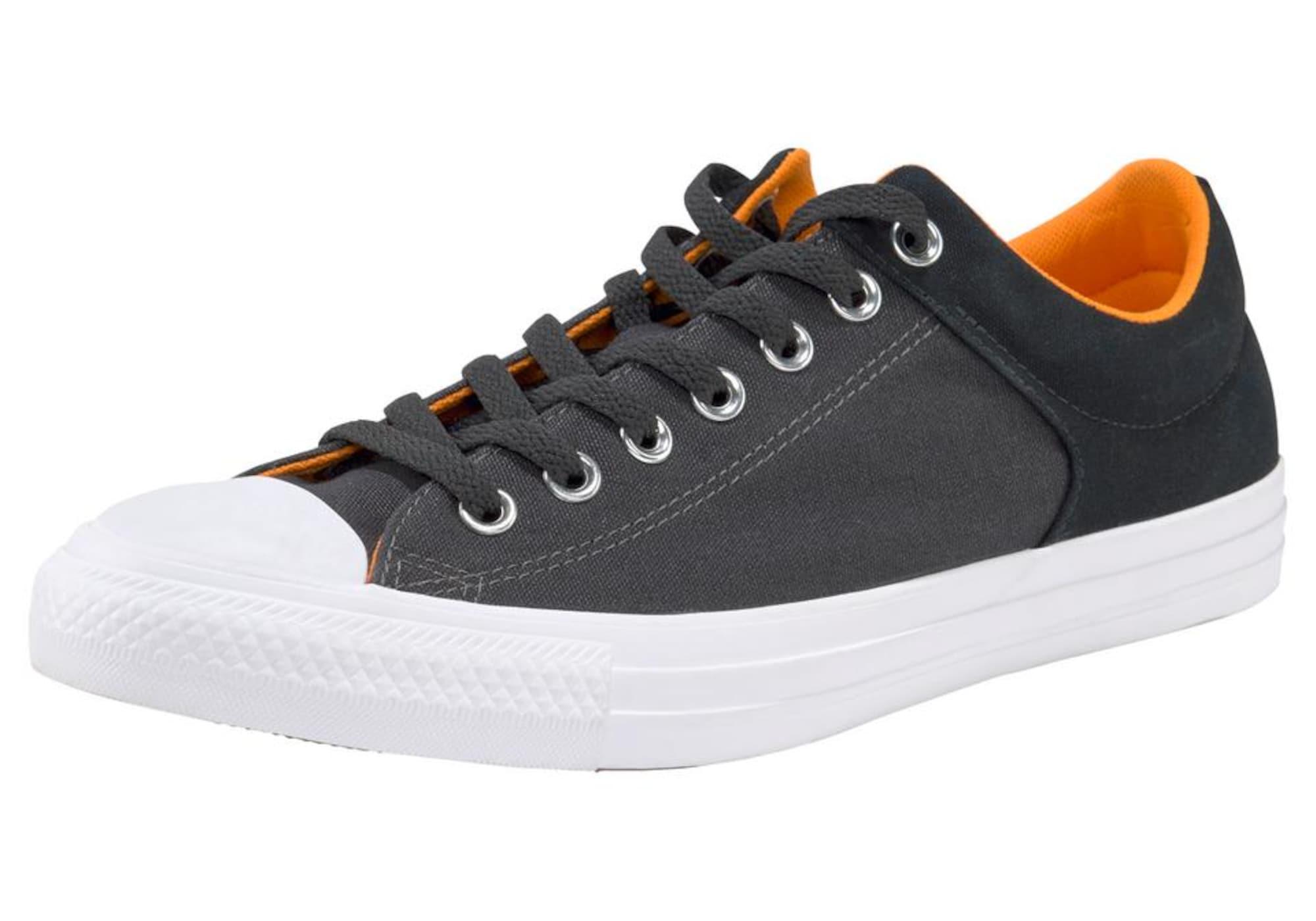 Sneaker 'All Star High Street Ox' | Schuhe > Sneaker > Sneaker high | Orange - Schwarz - Weiß | Converse