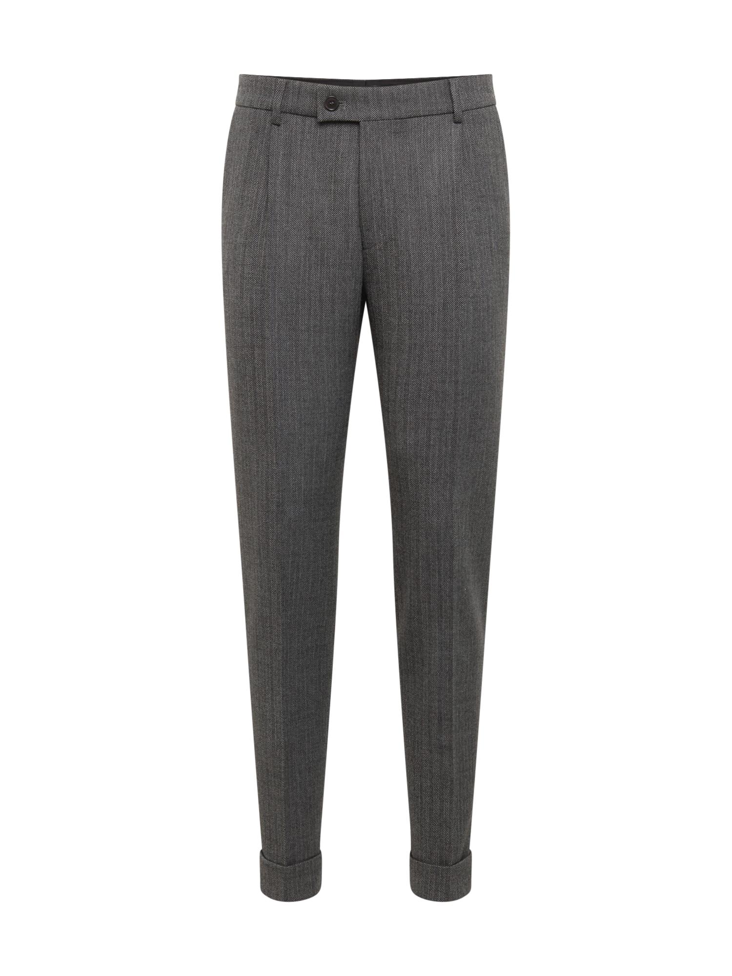 Kalhoty CORE tmavě šedá DRYKORN