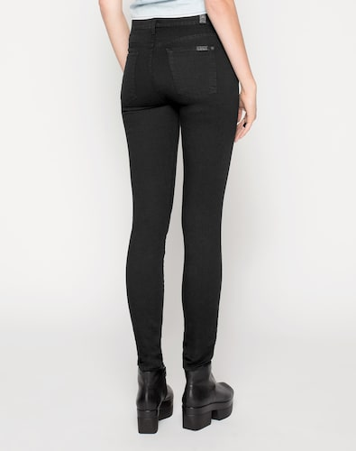 #7 #For #All #Mankind #Damen #Skinny #Denim #schwarz