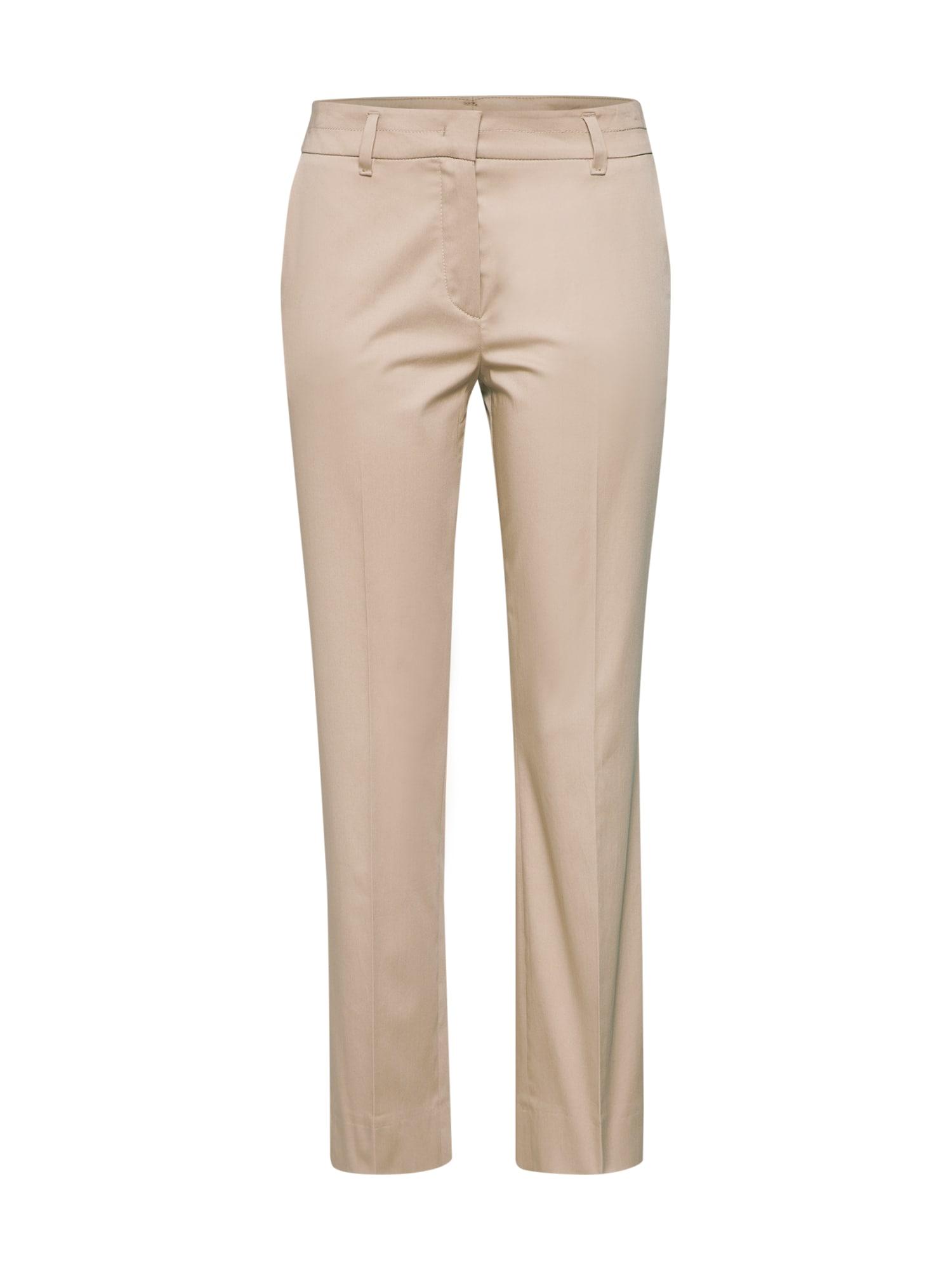 Chino kalhoty F077A béžová RENÉ LEZARD