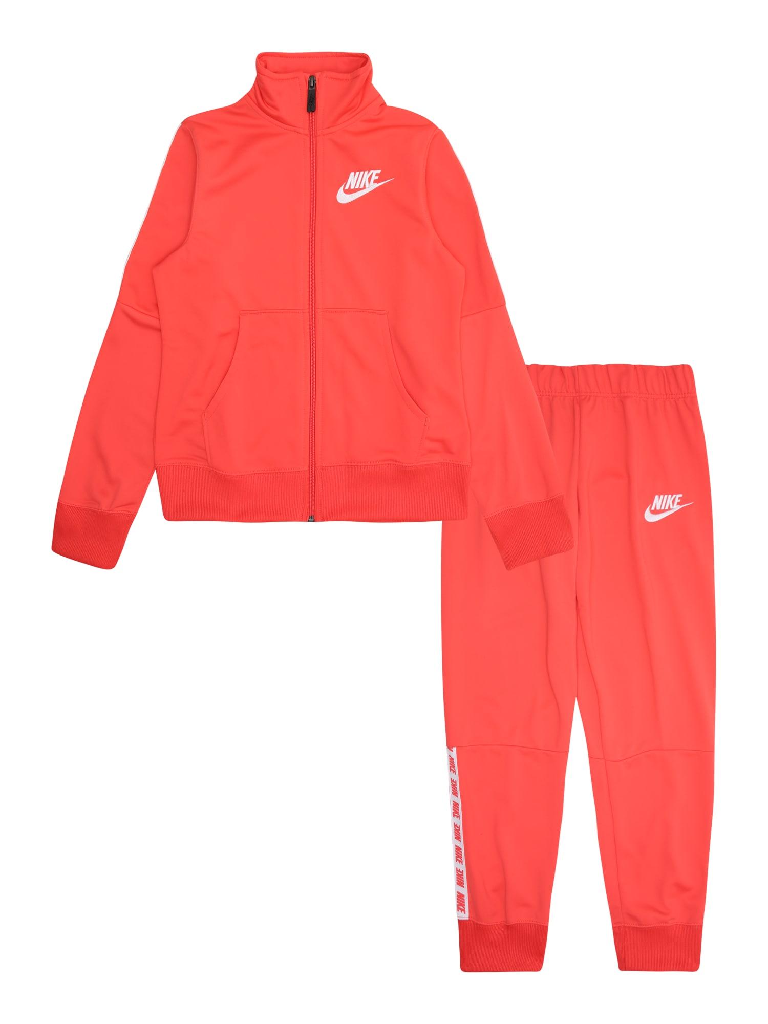 Joggingová souprava oranžová bílá Nike Sportswear