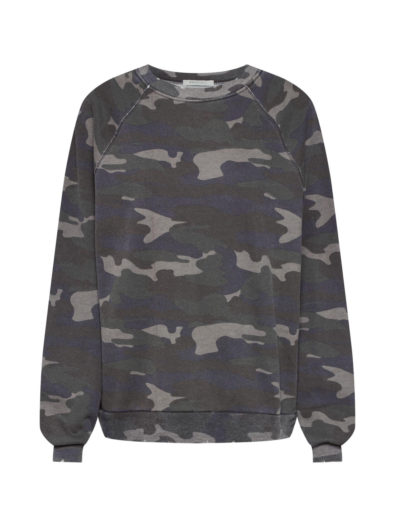 Mikina Oversized Sweatshirt khaki Ragdoll LA