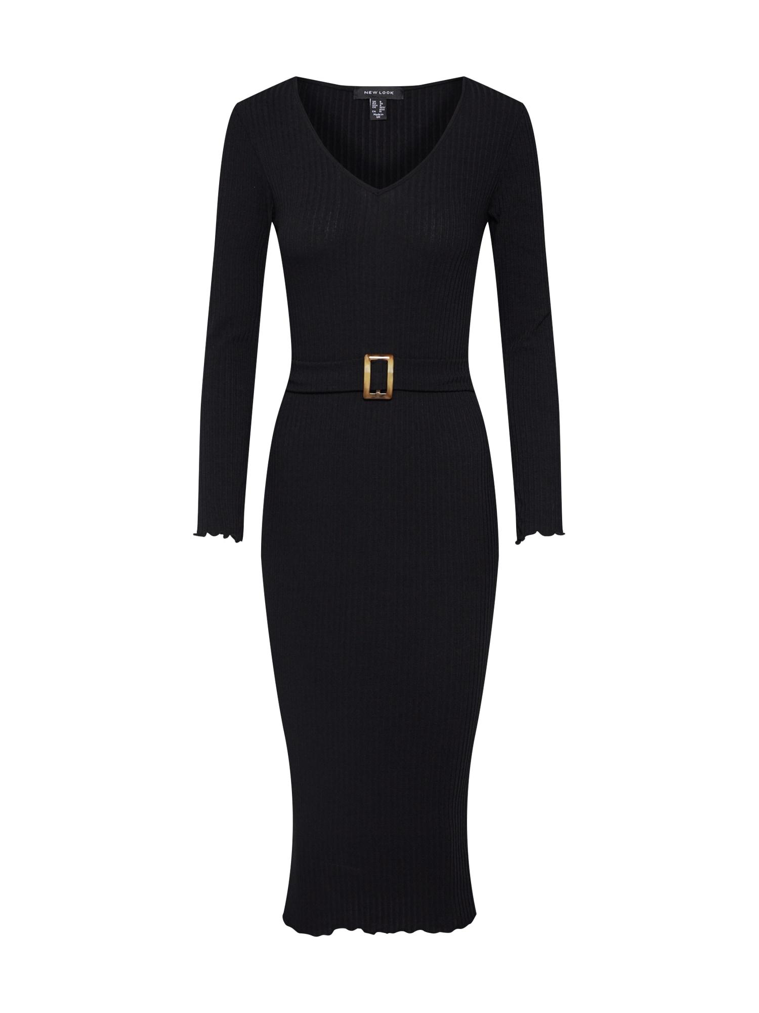 Šaty černá NEW LOOK