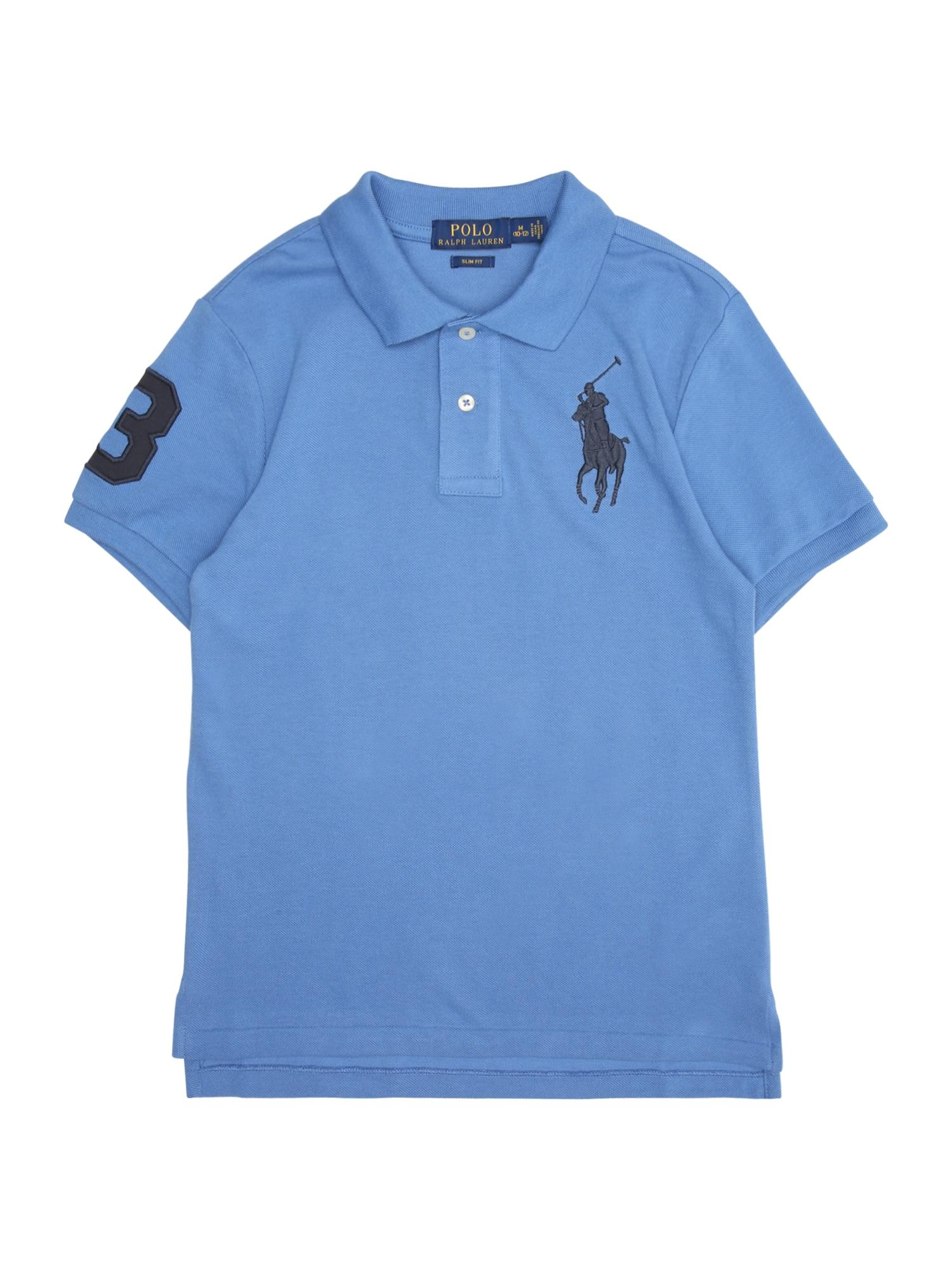 Tričko modrá POLO RALPH LAUREN