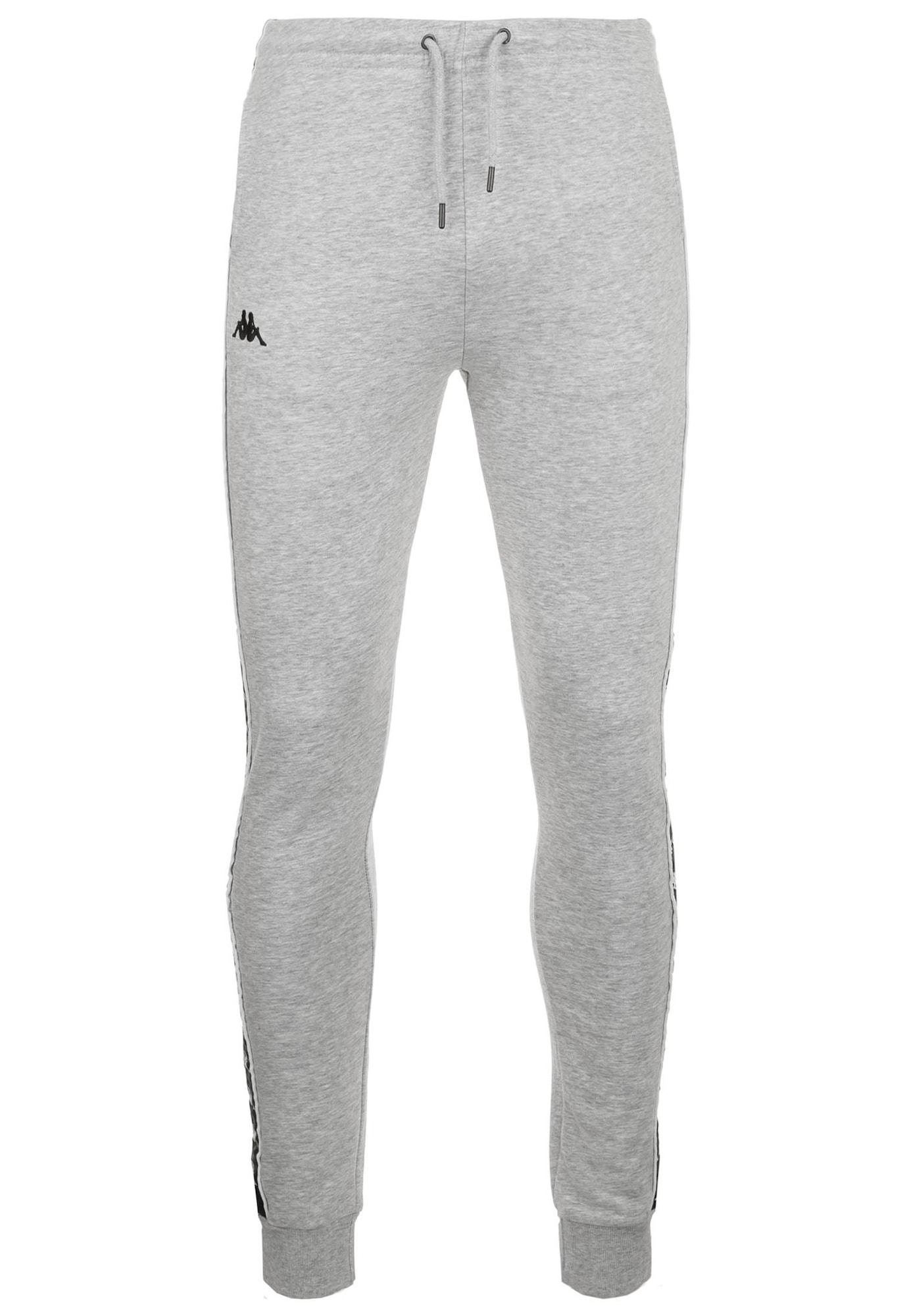 Sportovní kalhoty Edik  šedá KAPPA