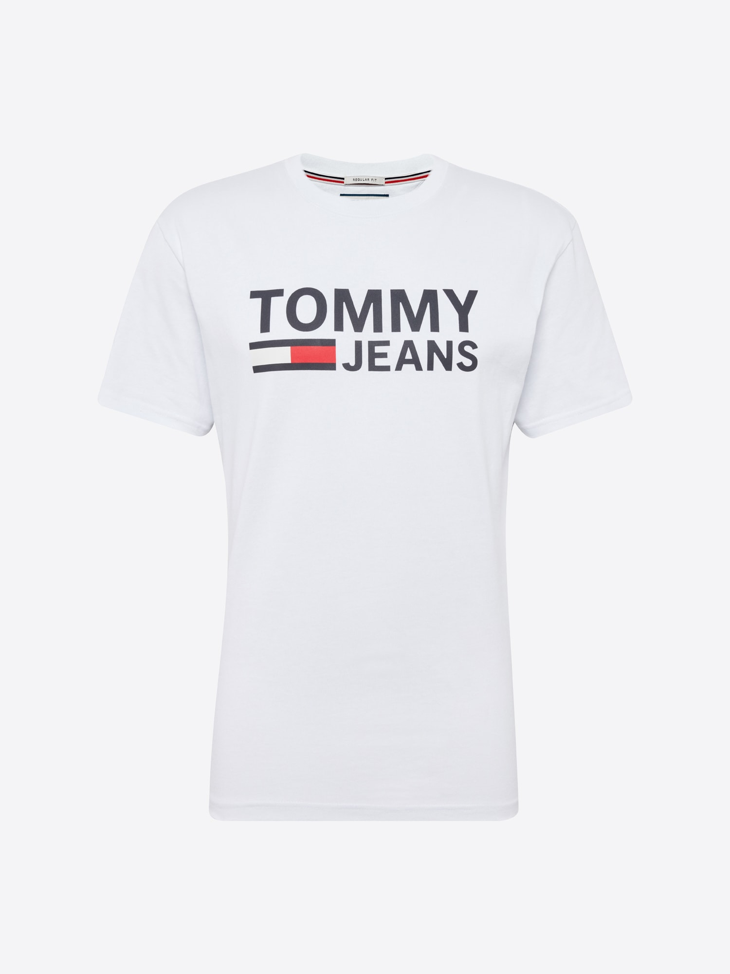 Tričko TJM TOMMY CLASSICS LOGO TEE tmavě modrá bílá Tommy Jeans