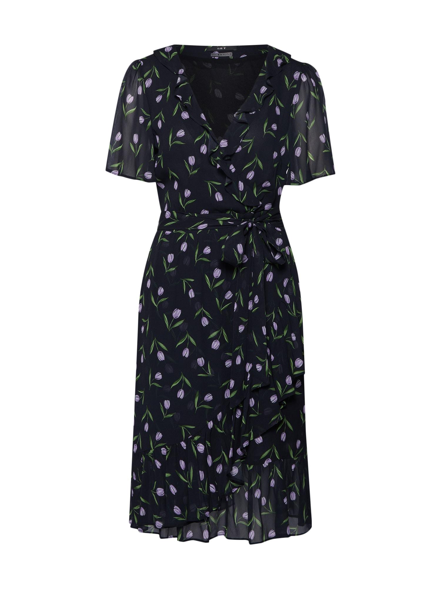 Letní šaty černá SET