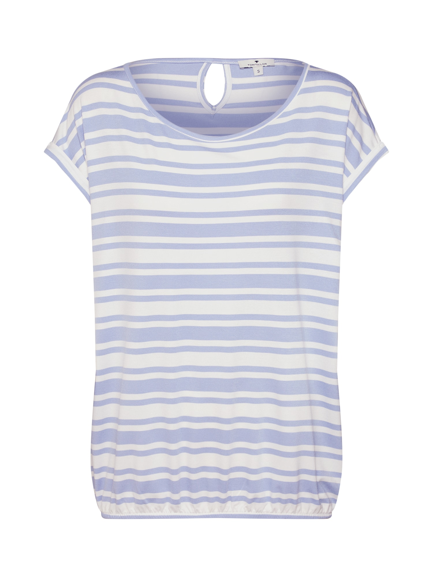 Tričko modrá bílá TOM TAILOR