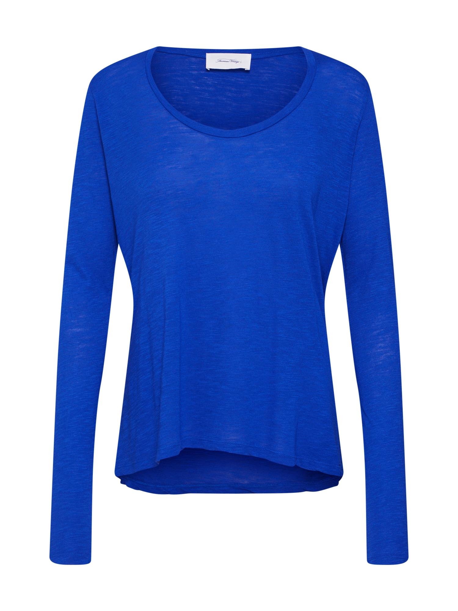 Tričko JACKSONVILLE královská modrá AMERICAN VINTAGE