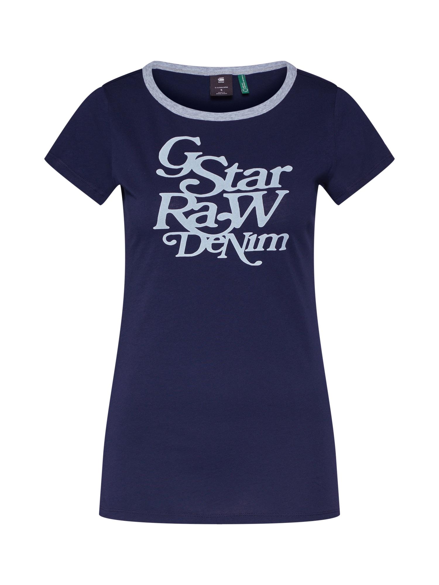 Tričko Civita slim r t wmn ss modrá G-STAR RAW