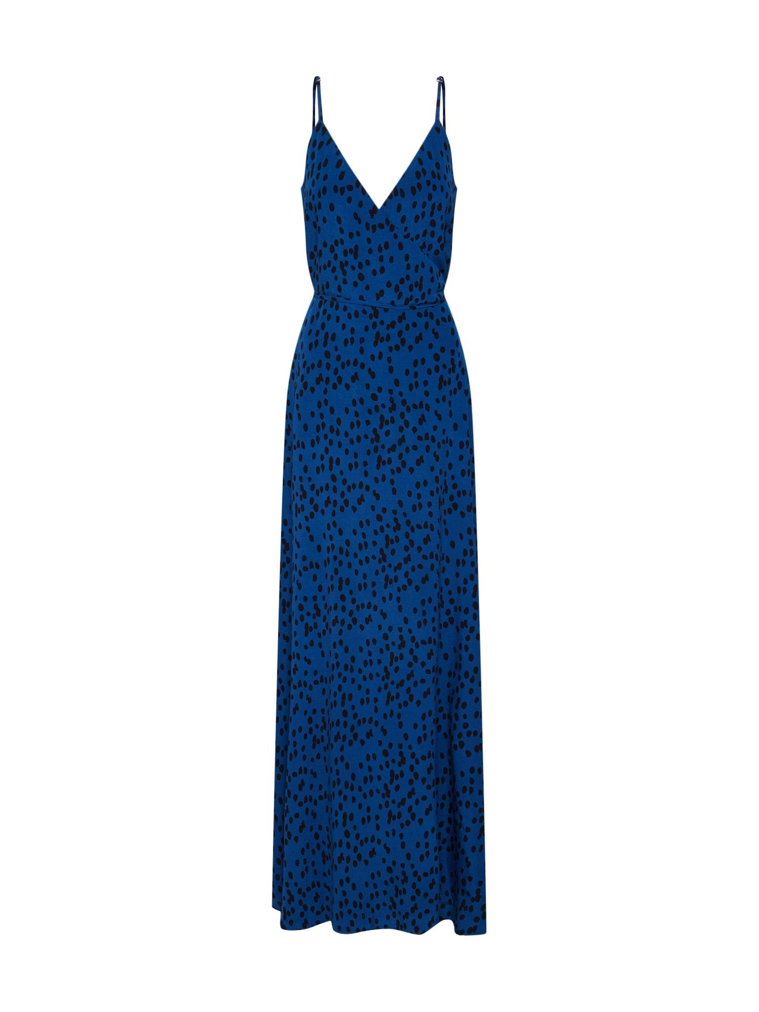 Společenské šaty Beline modrá Mbym