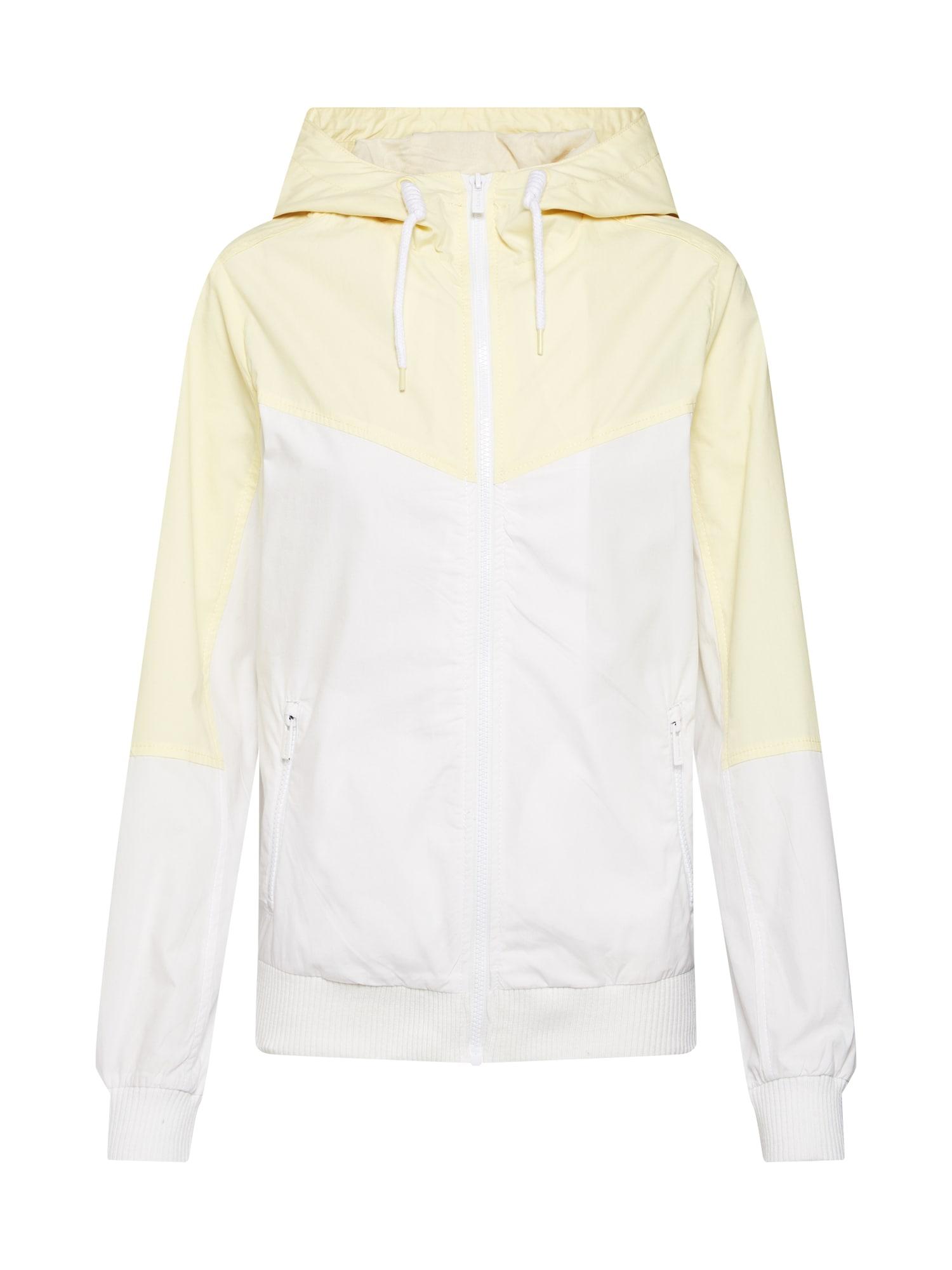 Přechodná bunda žlutá bílá Sublevel