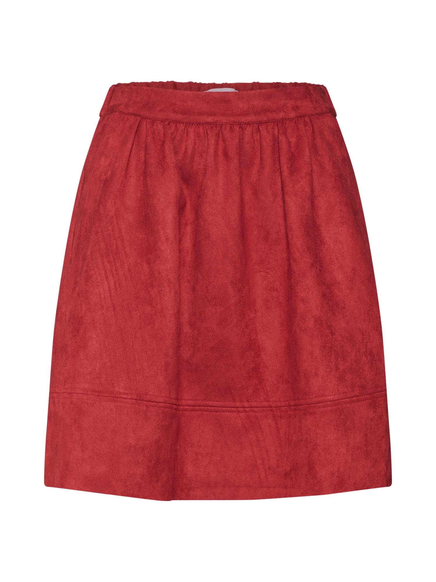 Sukně ajay červená Minimum