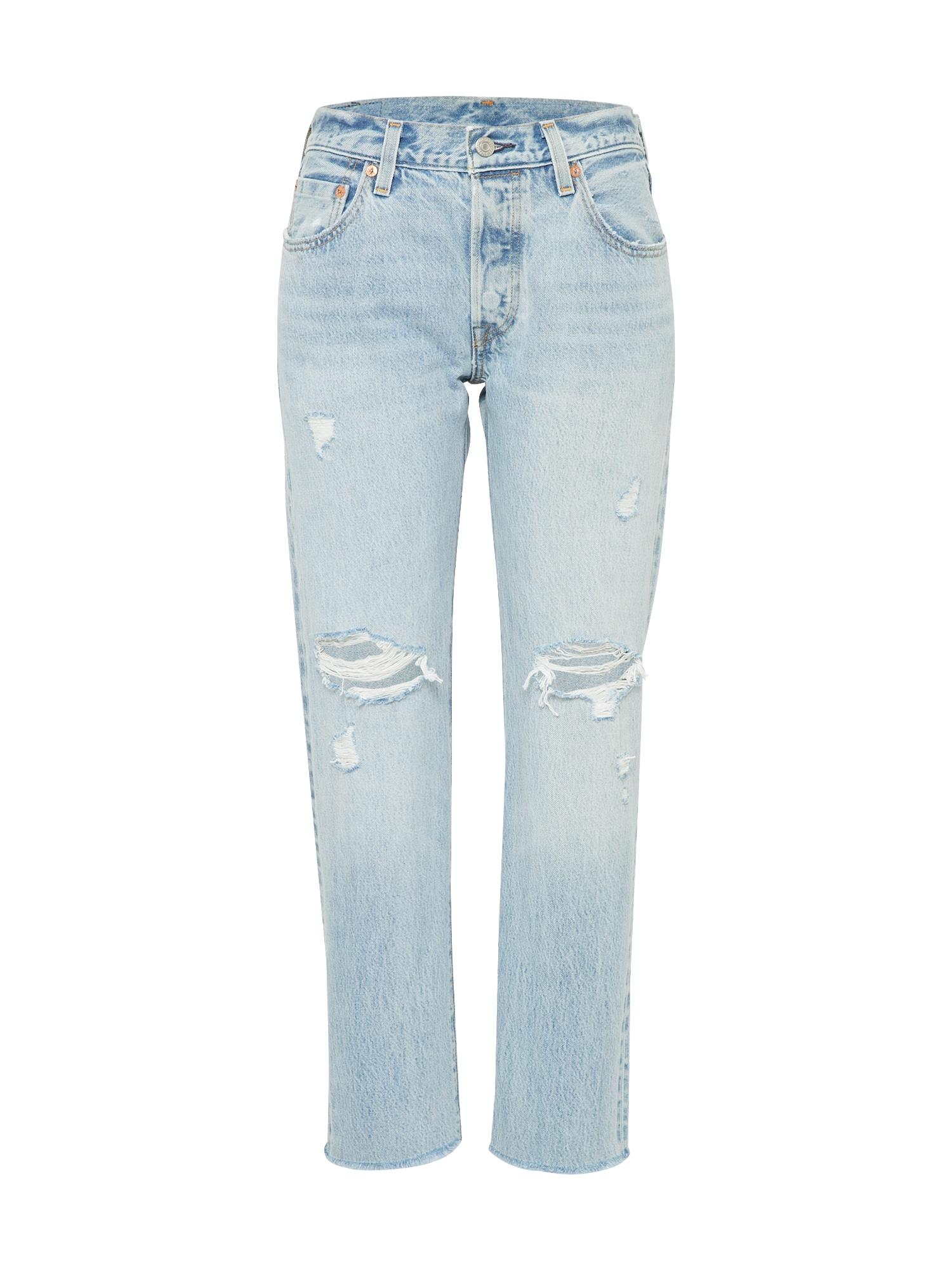 LEVI'S Dames Jeans 501® CROP blue denim