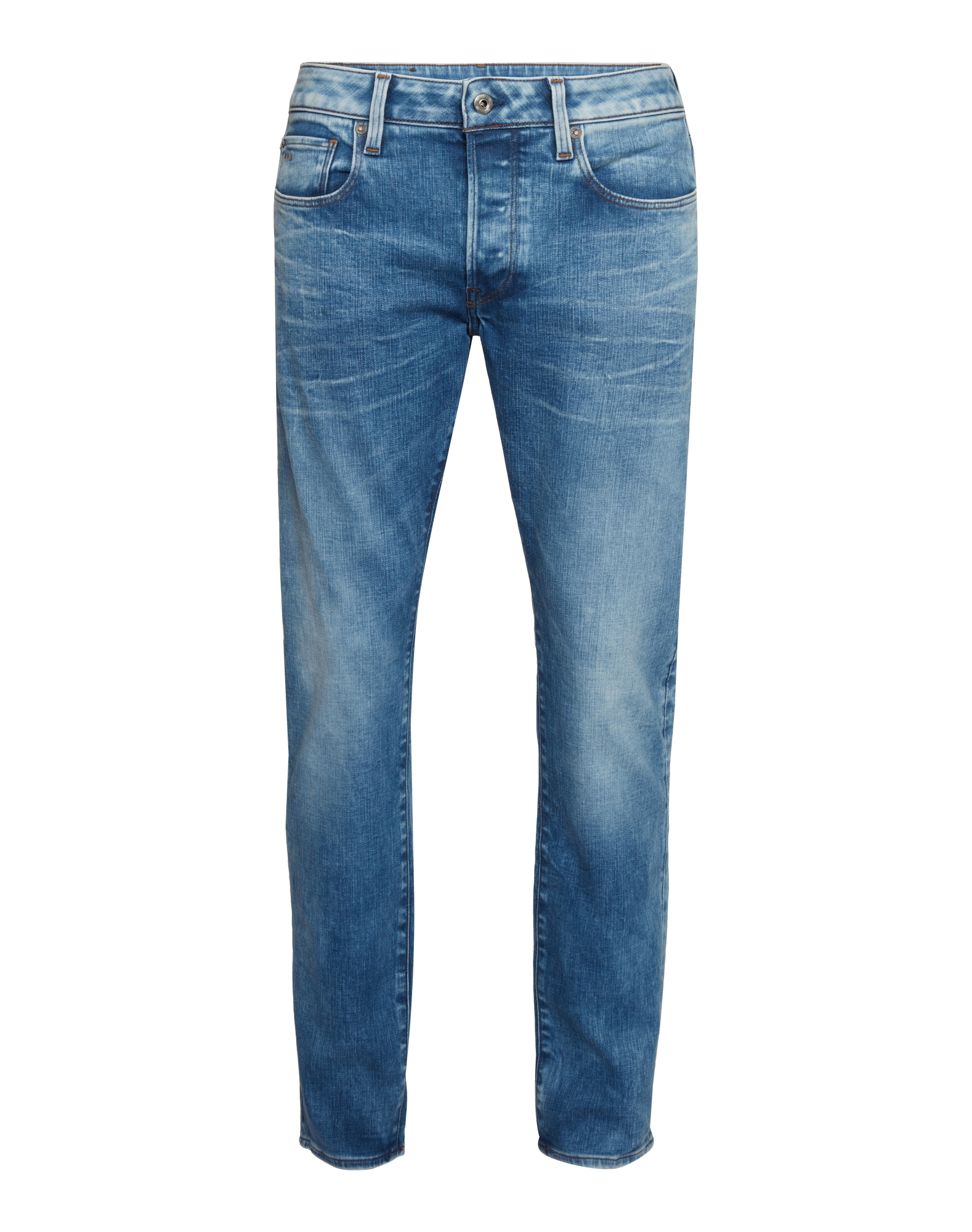 G-STAR RAW Heren Jeans 3301 Slim blue denim