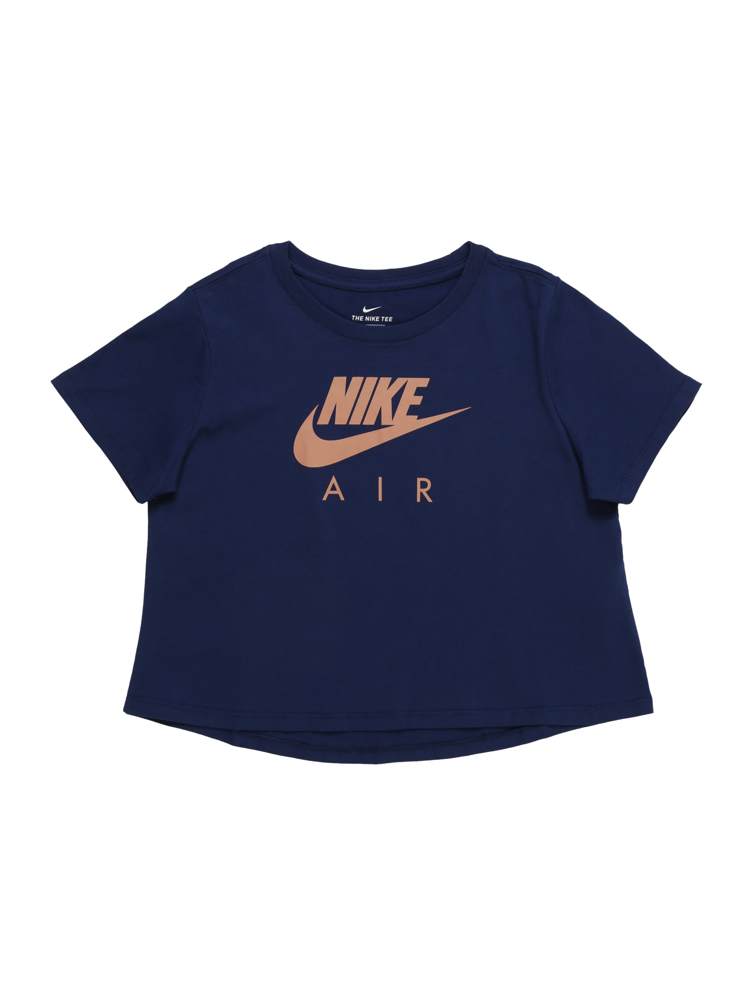 Tričko tmavě modrá korálová Nike Sportswear