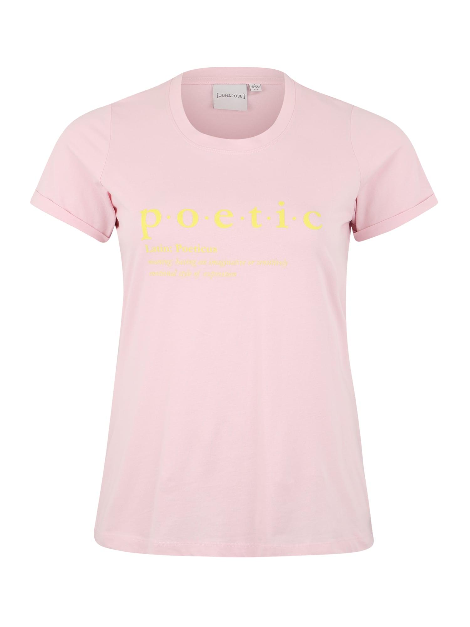 Tričko JRRAVAS ROXY pink Junarose