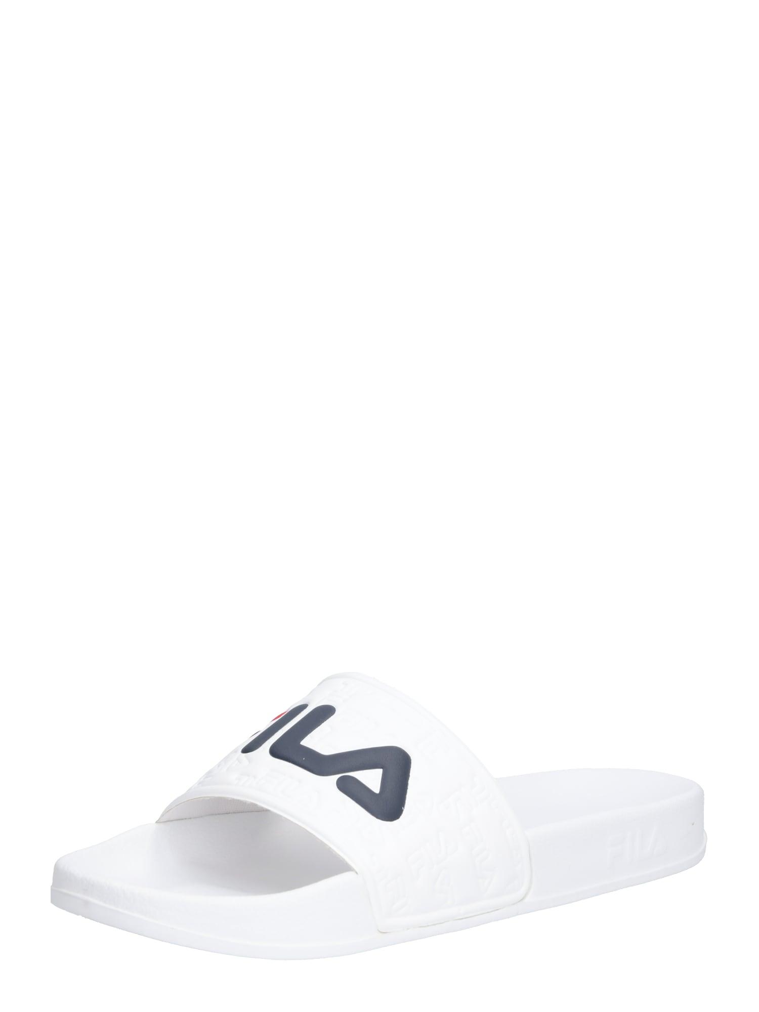 Pantofle Boardwalk bílá FILA