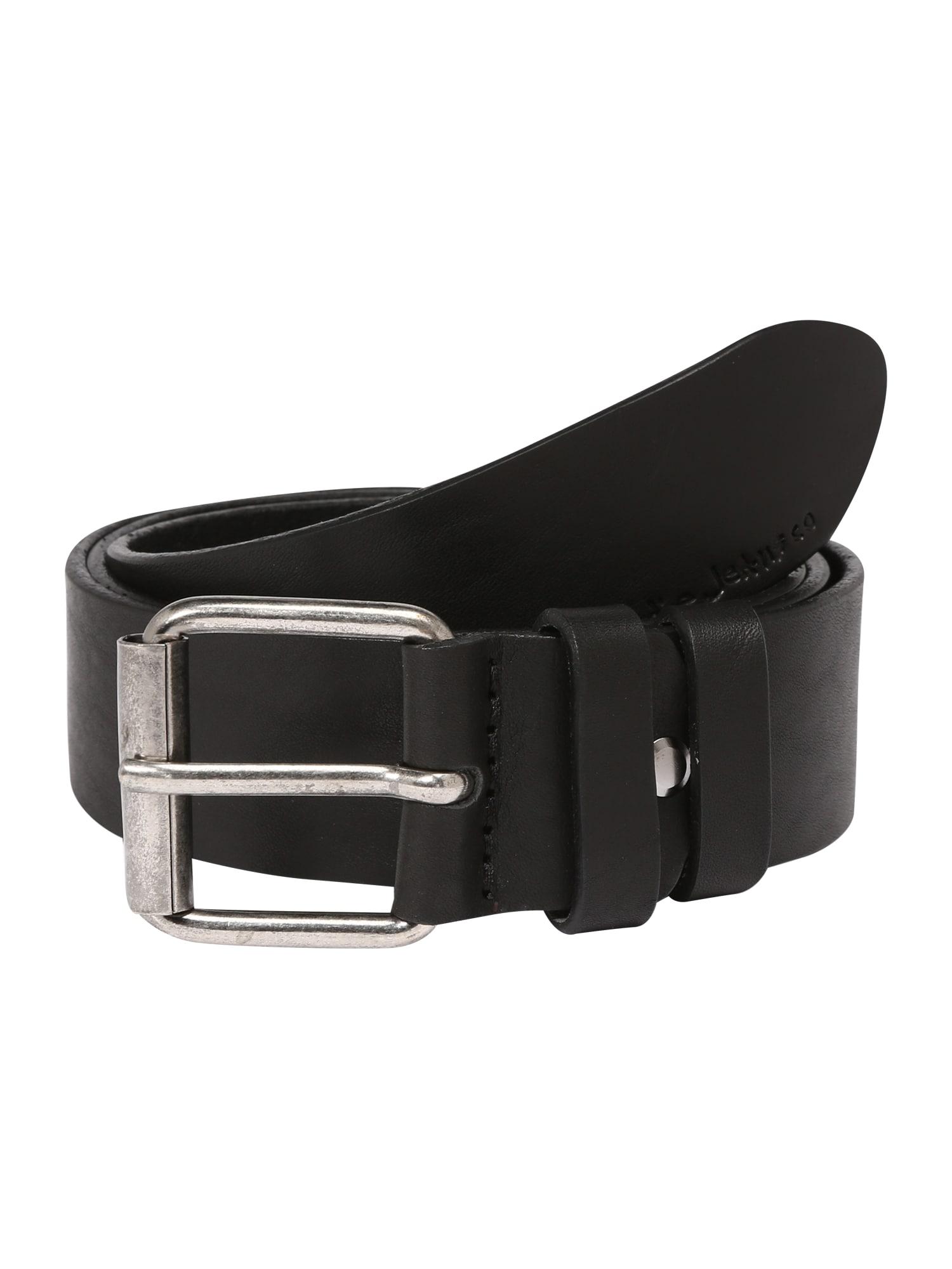 Opasek Pedersson Leather Belt černá Nudie Jeans Co