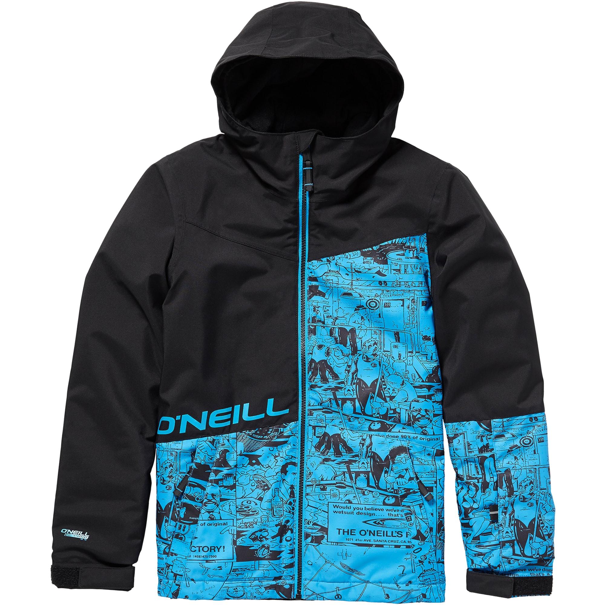 ONEILL Zimní bunda PB HUBBLE JACKET modrá černá O'NEILL