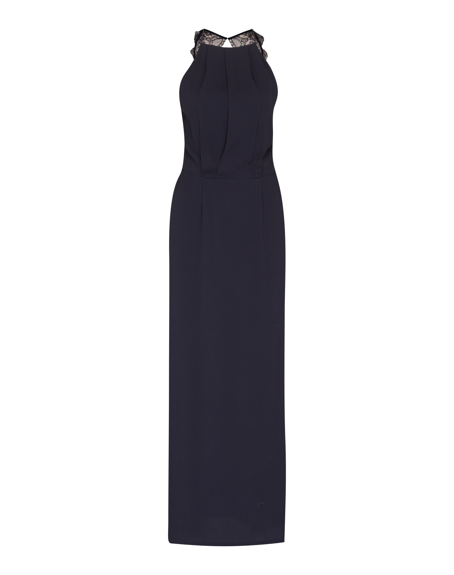 Společenské šaty Willow 5687 tmavě modrá Samsoe & Samsoe