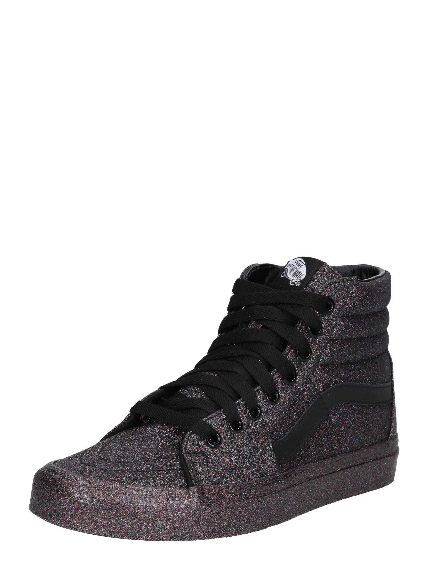 Kotníkové tenisky Sk8-Hi černá stříbrná VANS
