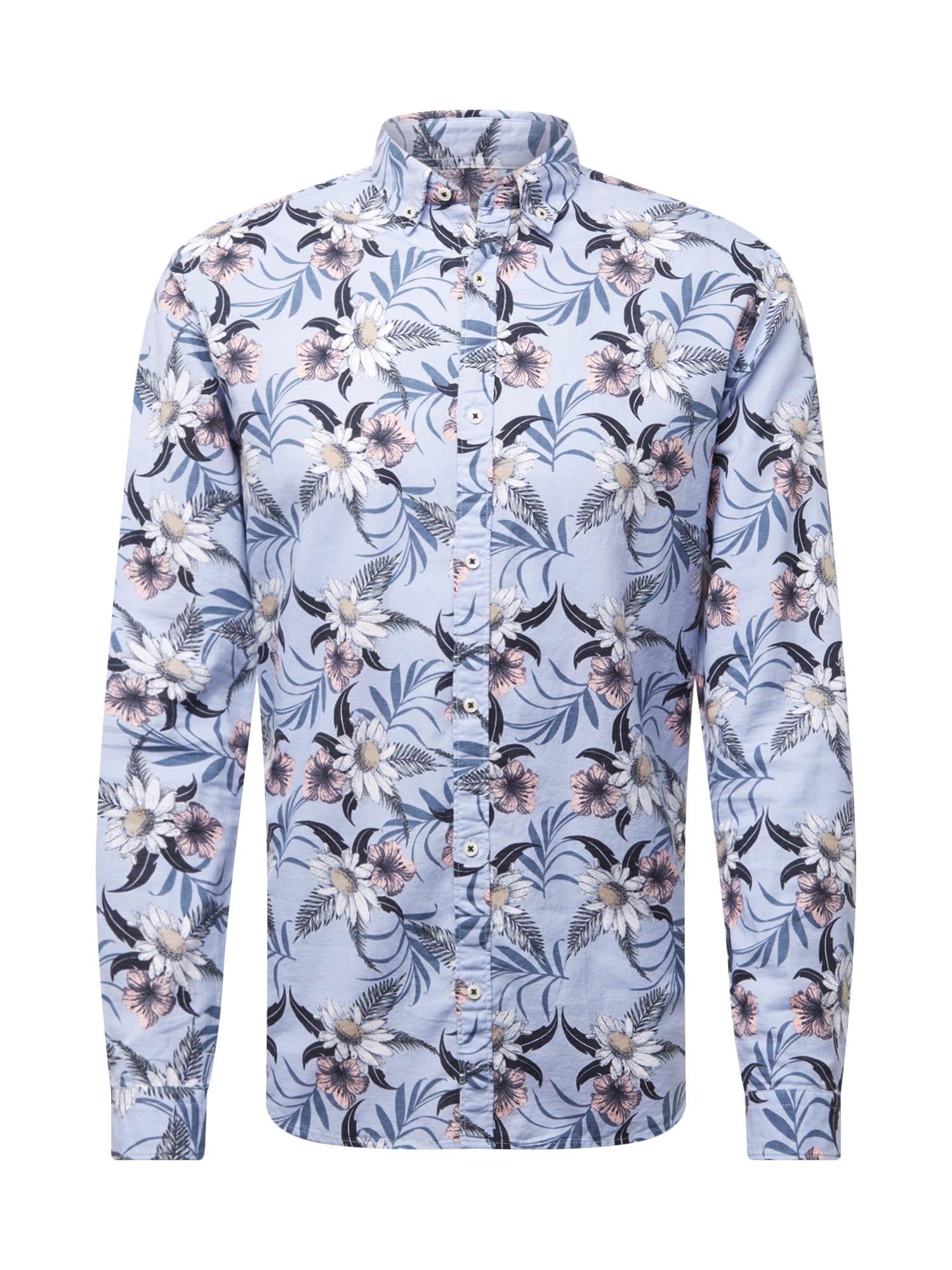 Košile SUMMER světlemodrá tmavě modrá růžová JACK & JONES