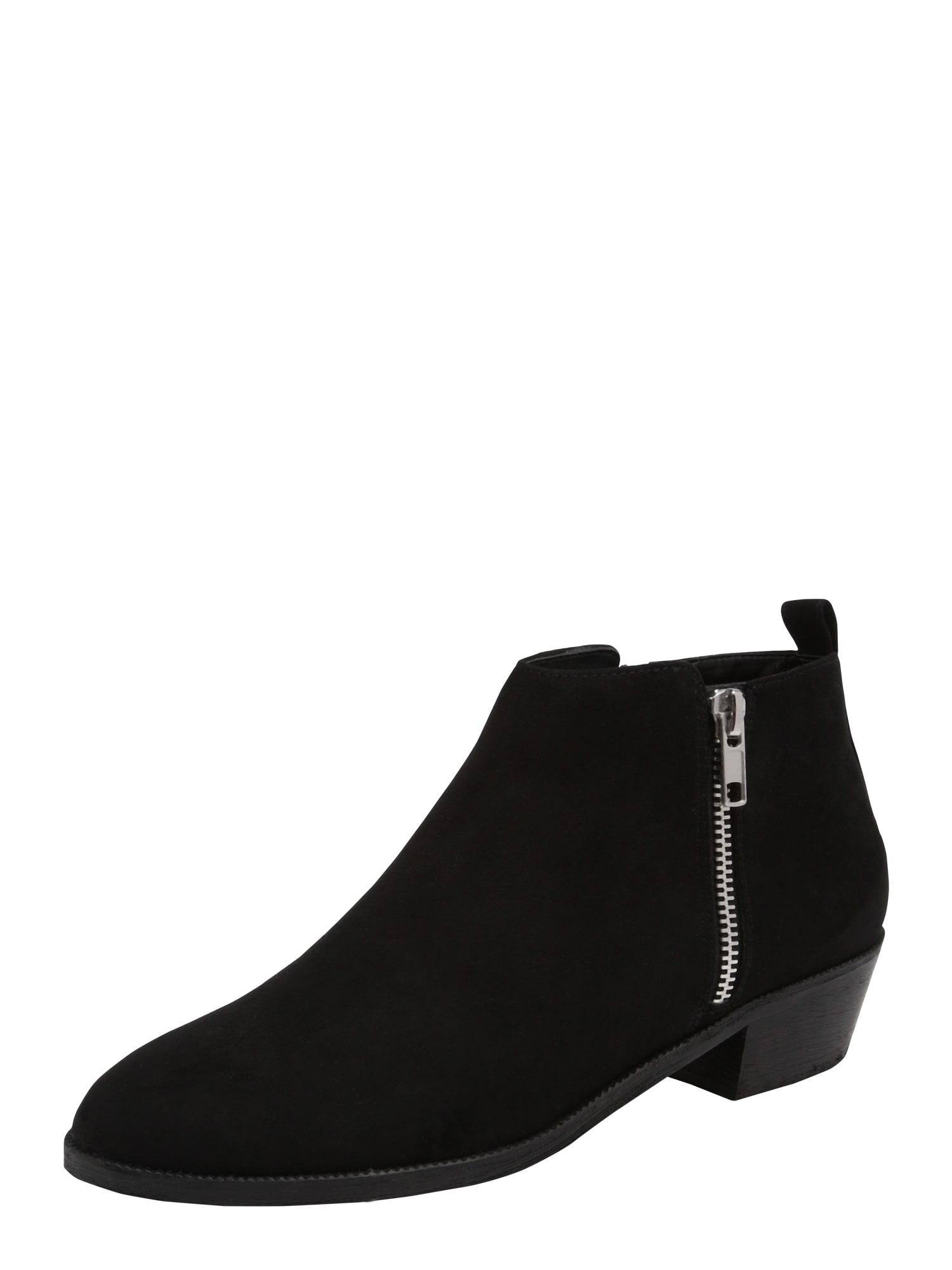 Kotníkové boty Milla černá ABOUT YOU