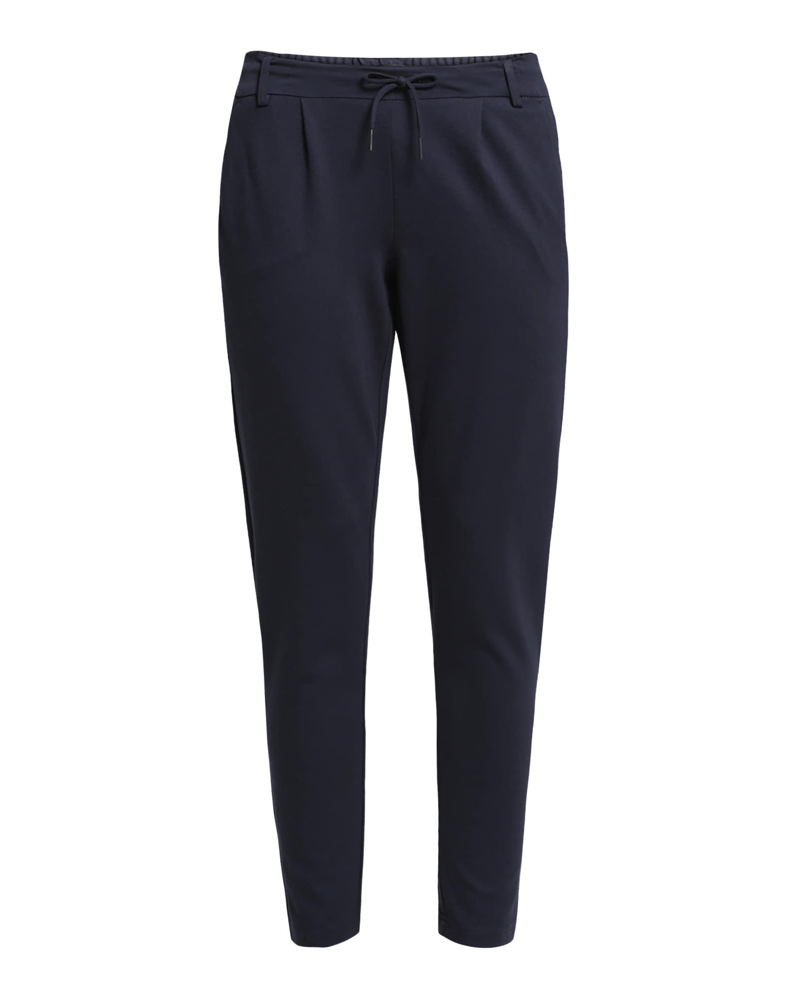 Kalhoty se sklady v pase ONLPoptrash tmavě modrá ONLY