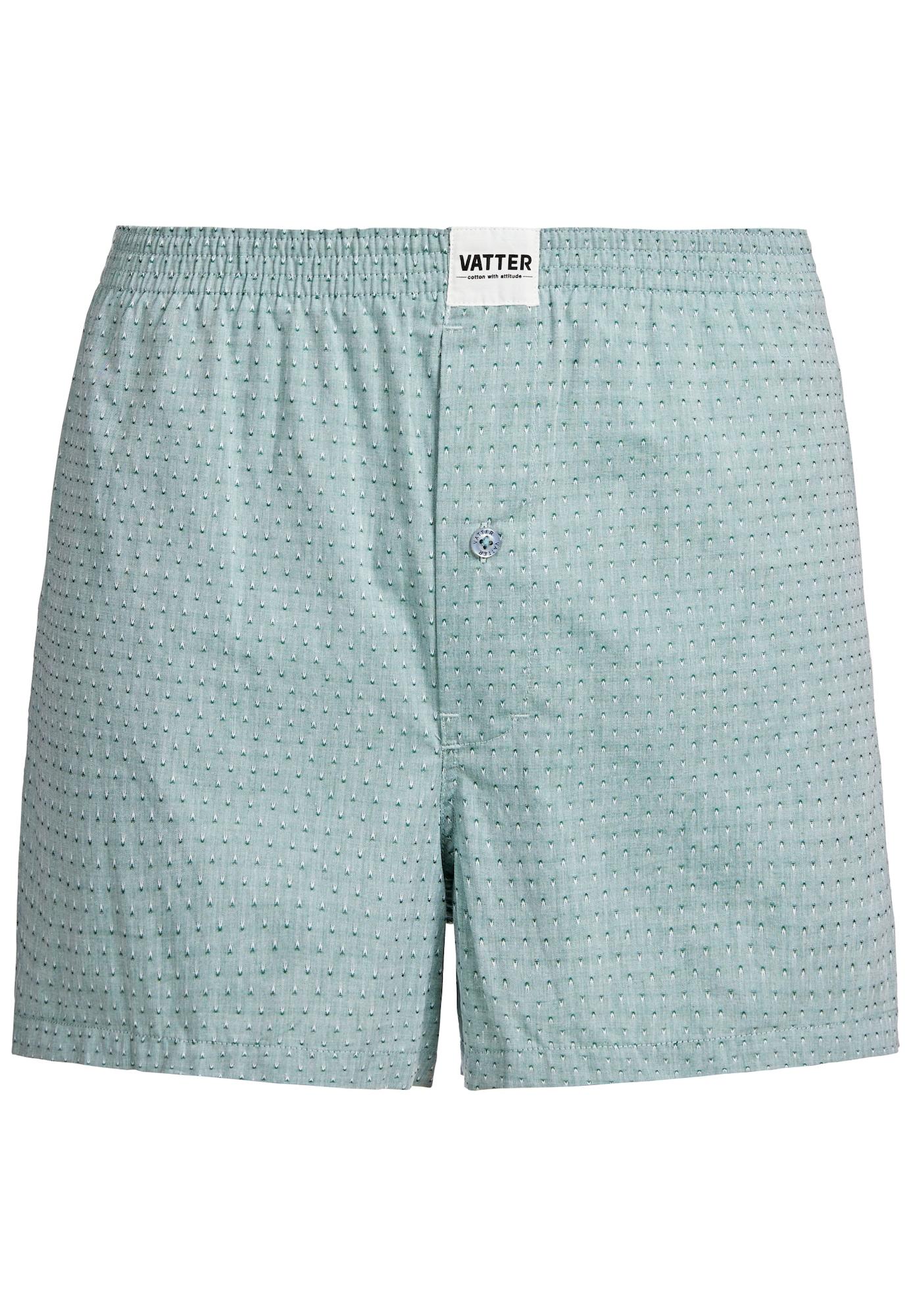 'Loose Larry' Boxer Short | Bekleidung > Wäsche > Boxershorts | Grün - Hellgrün | VATTER